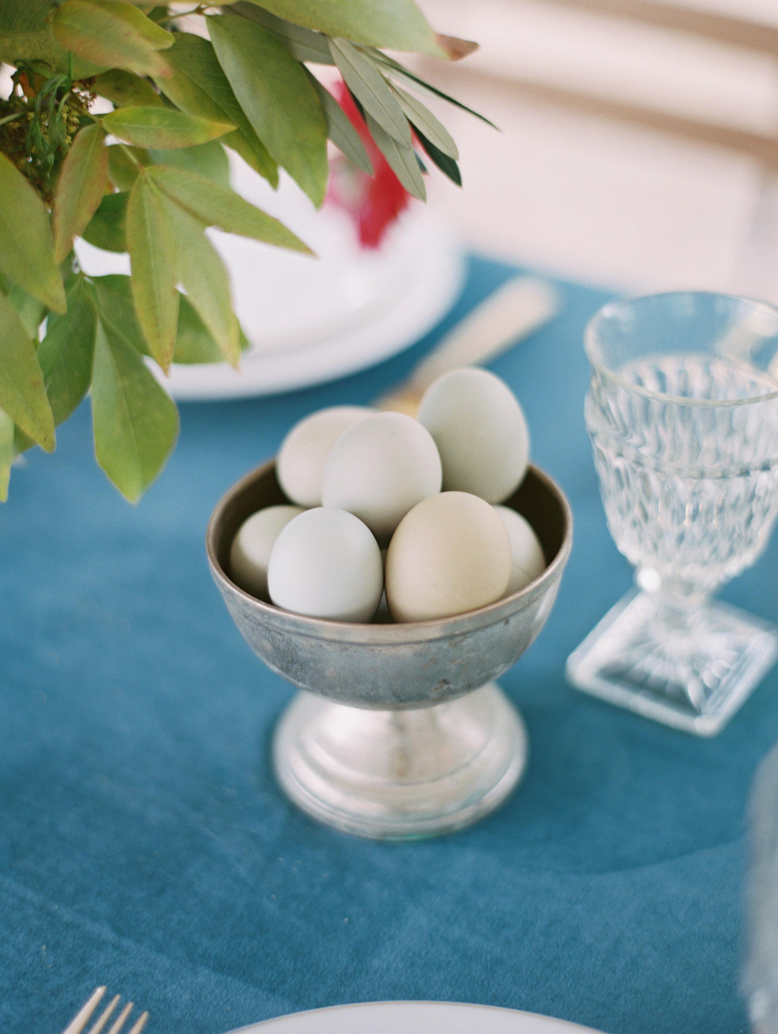 surprise wedding eggs in bowl