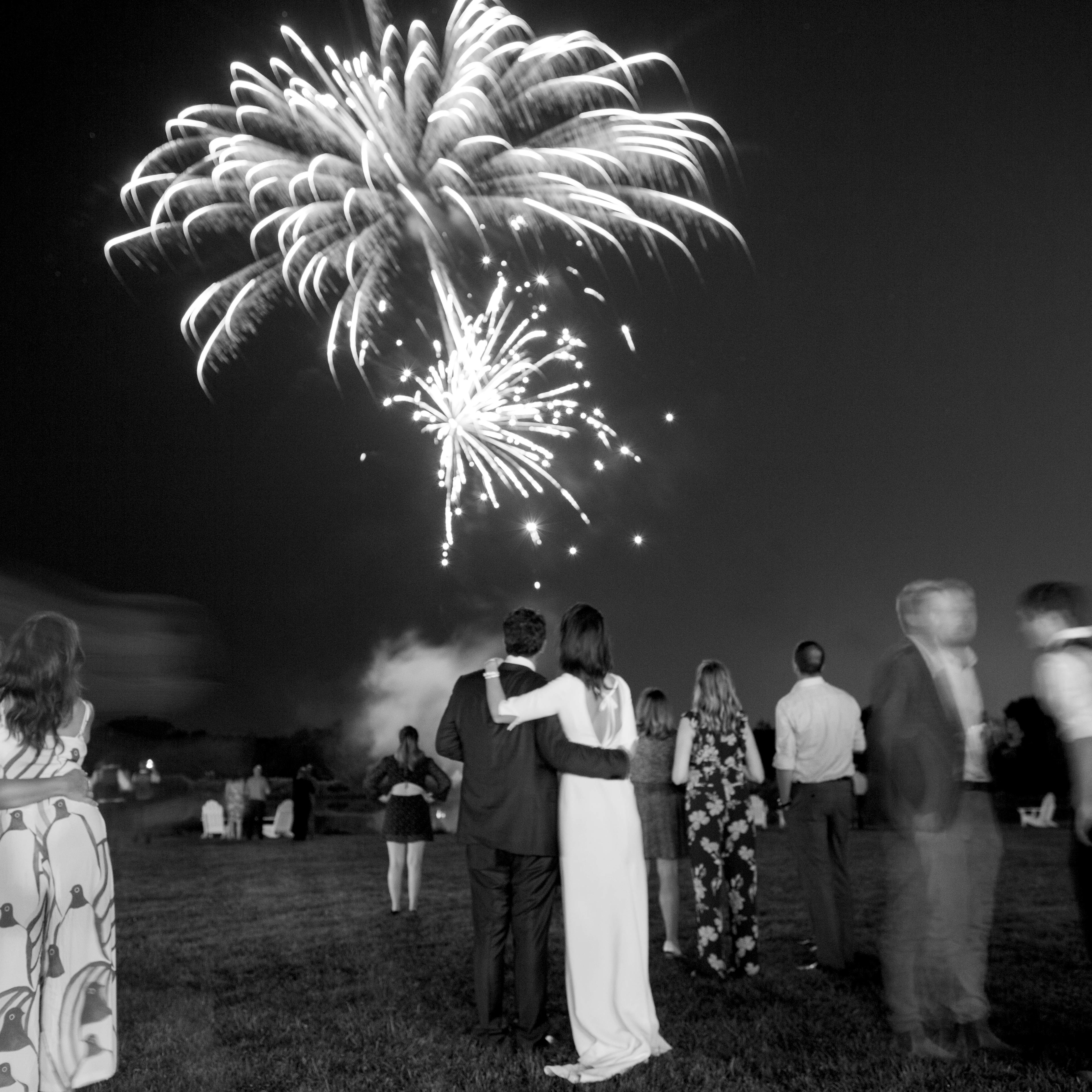 kayla michael wedding fireworks