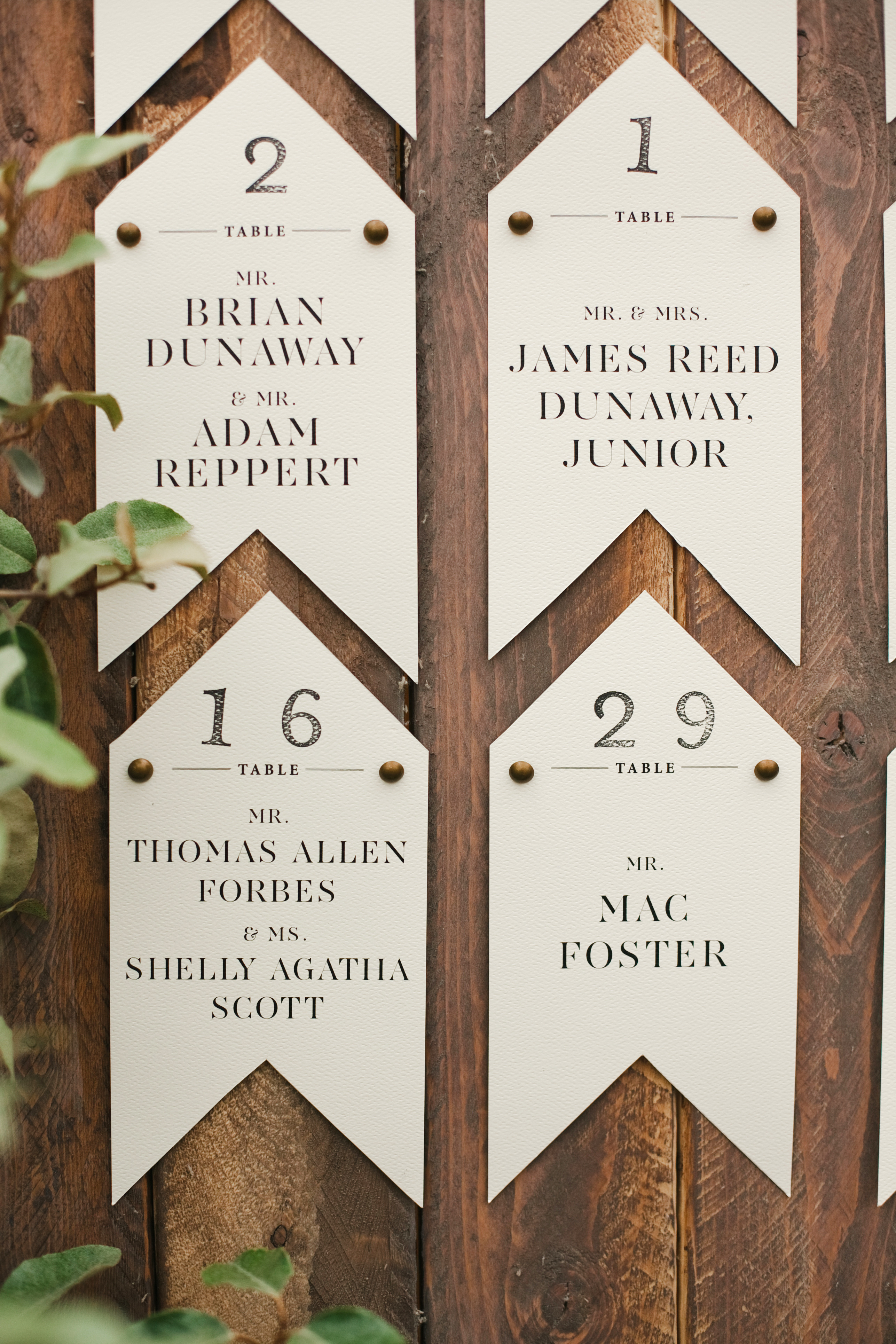 banner decor seating chart signs