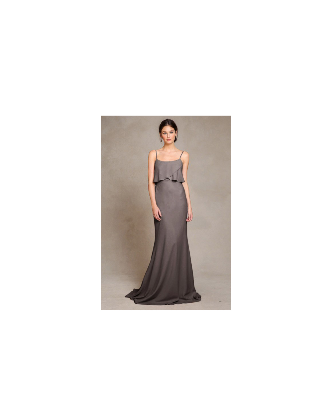 grey silver bridesmaid dresses jenny yoo blake