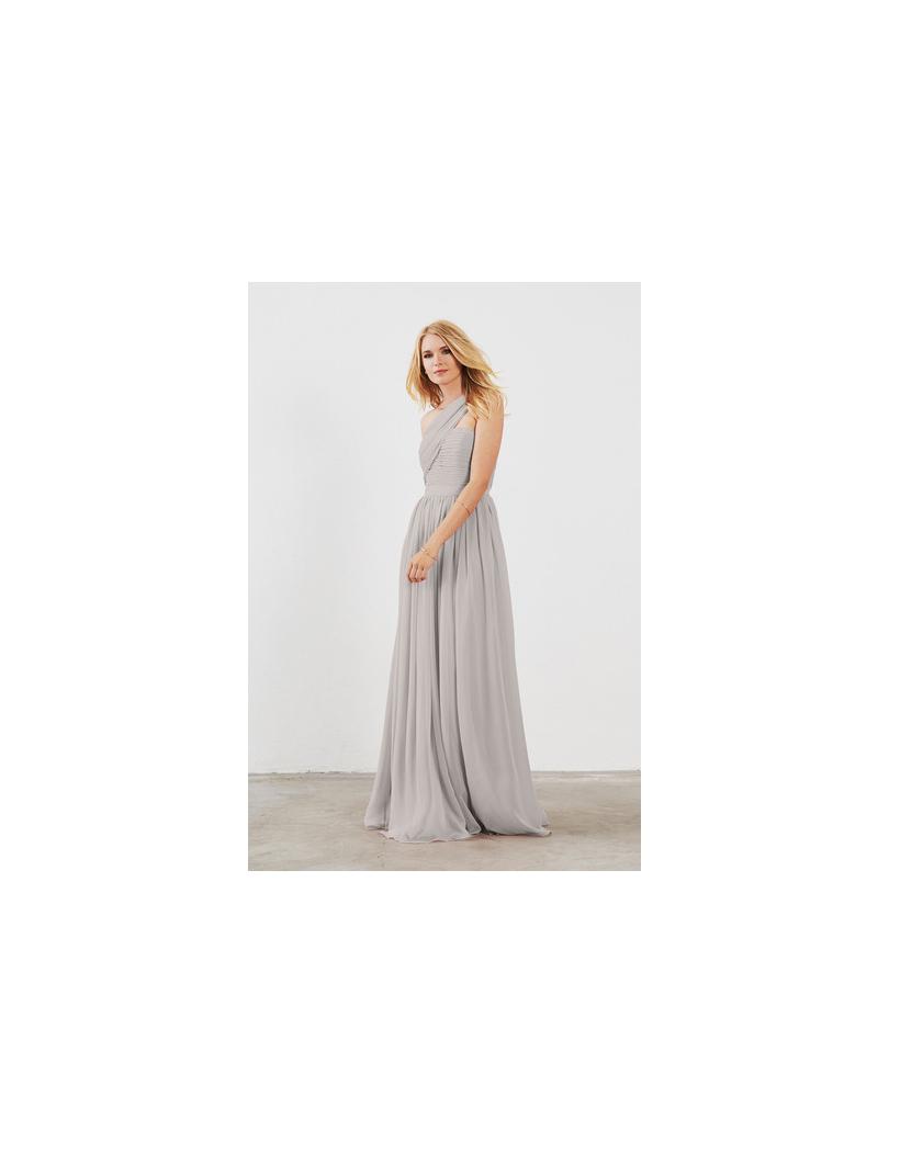 grey silver bridesmaid dresses weddington way seraphina