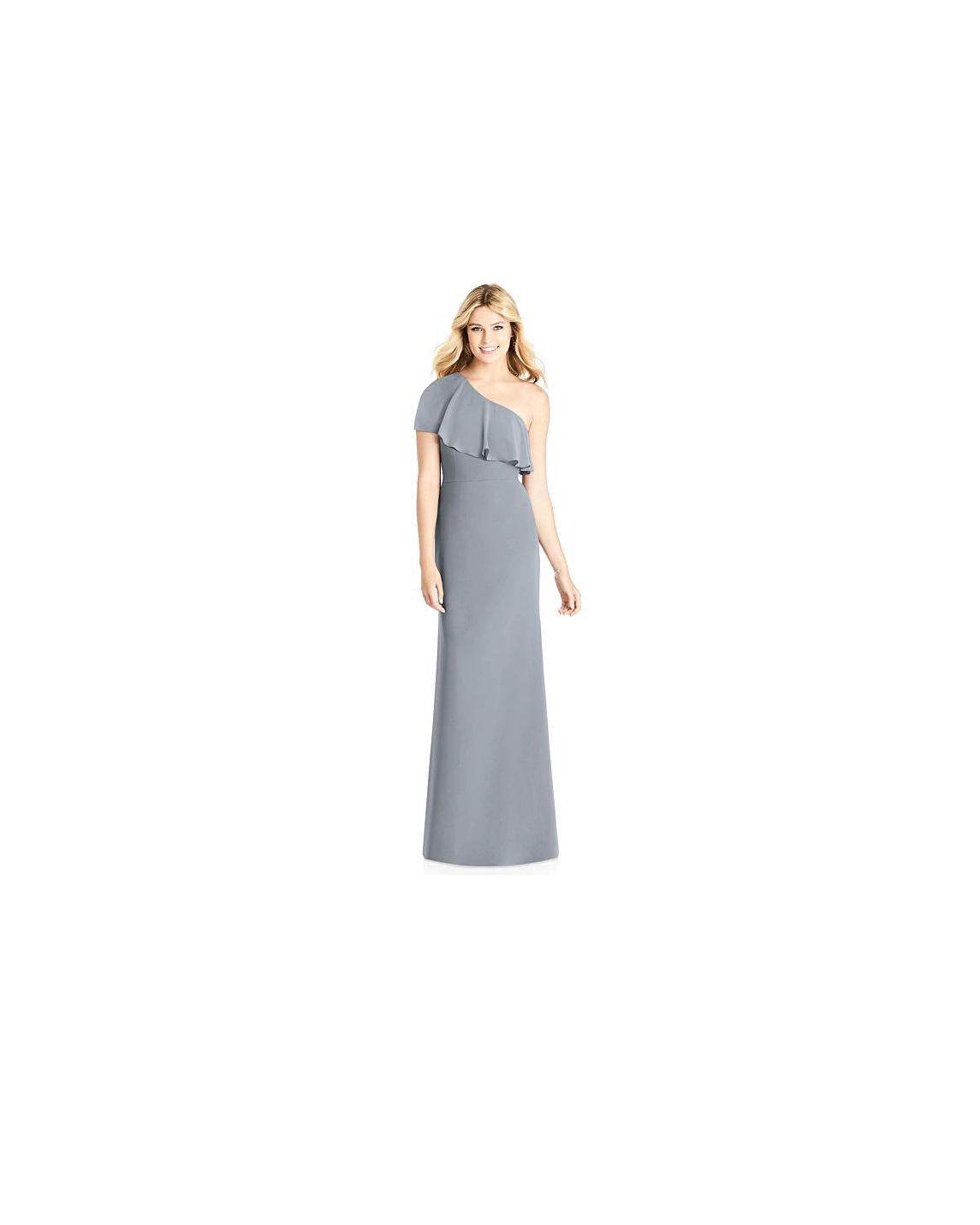 grey silver bridesmaid dresses social bridesmaids 8189 dress