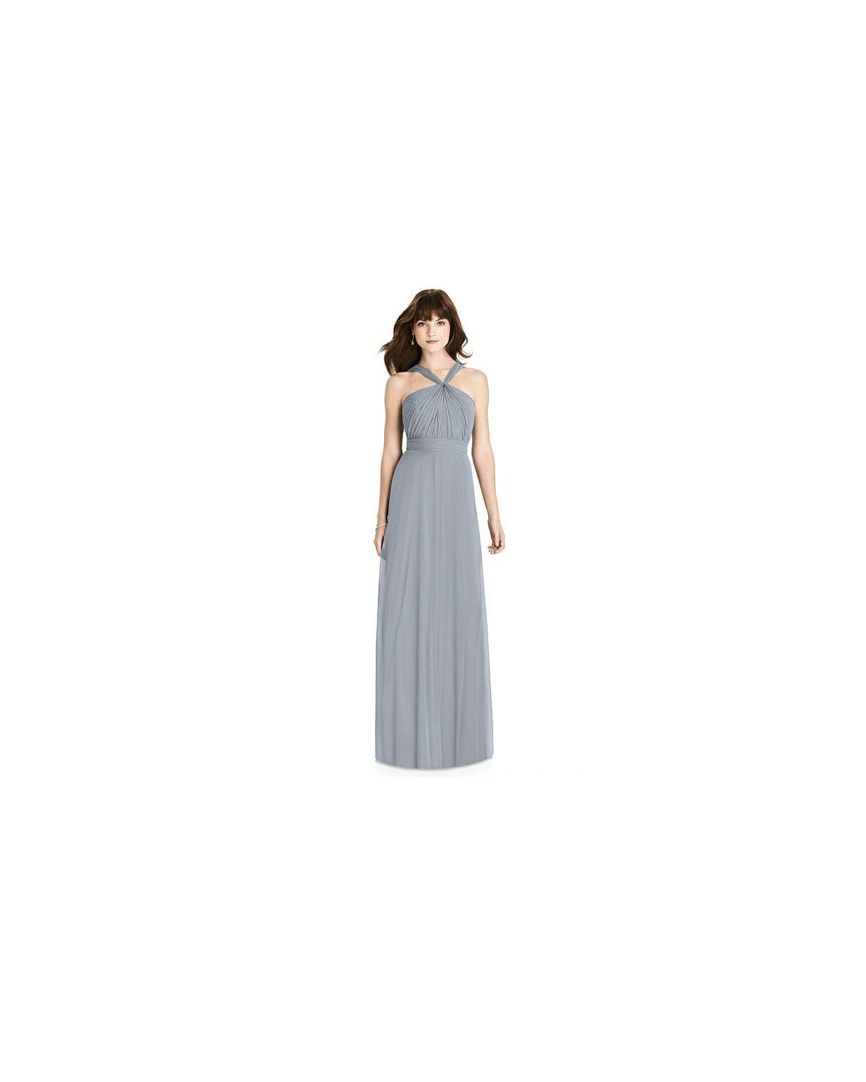 grey silver bridesmaid dresses after six 6783 dress