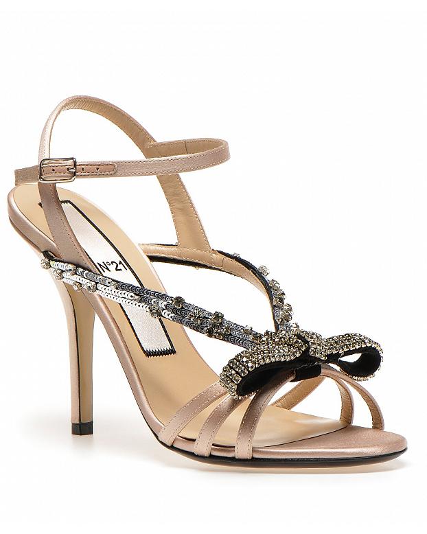 No. 21 Embellished Sandals
