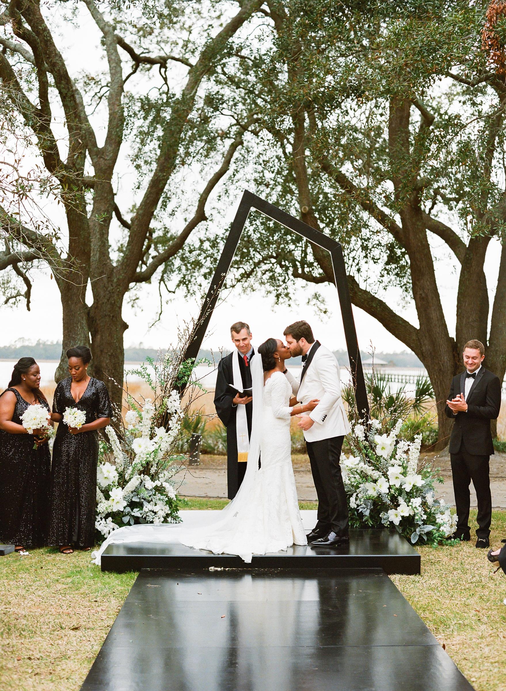 hamida charlie charleson wedding ceremony