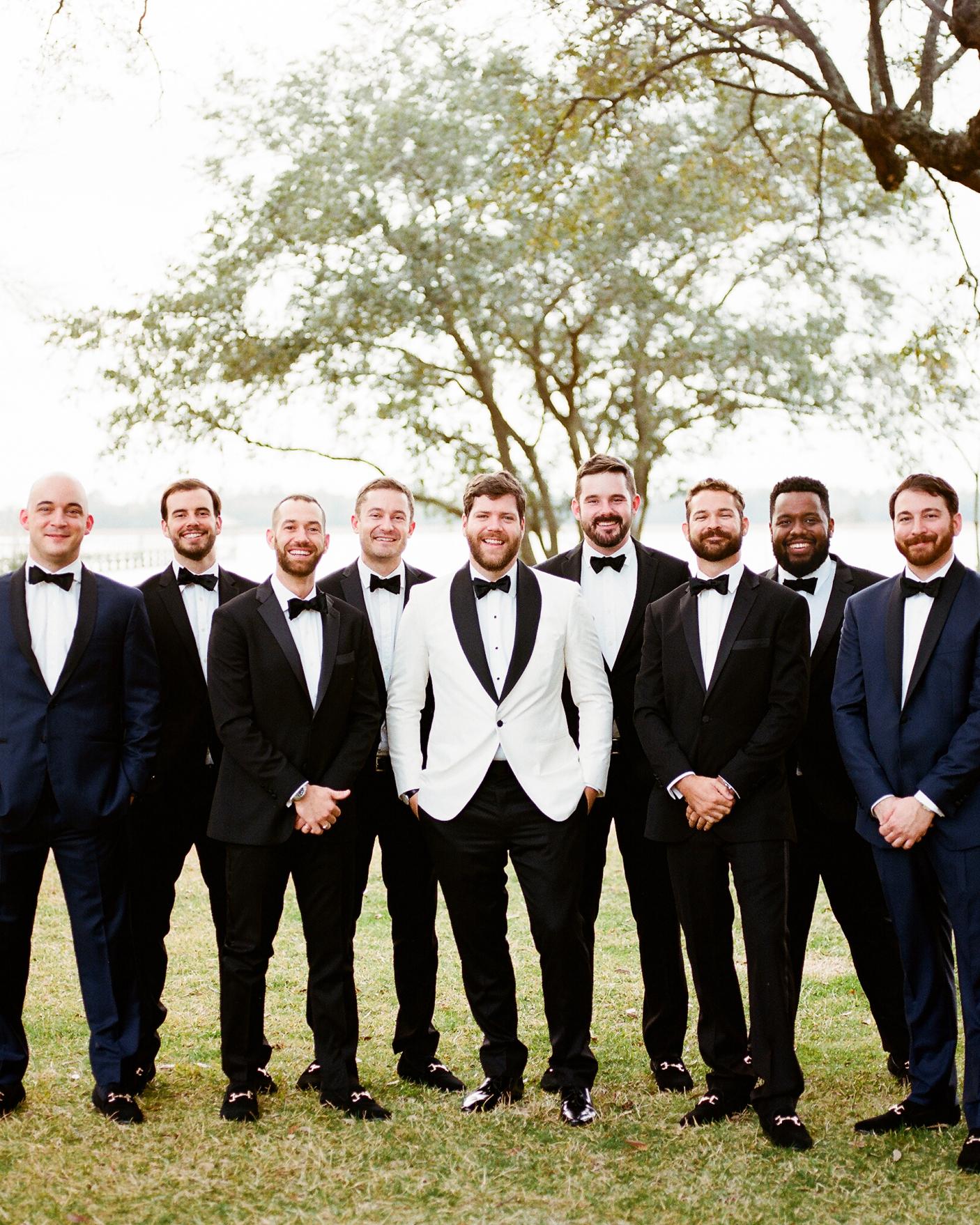 hamida charlie charleson wedding groomsmen