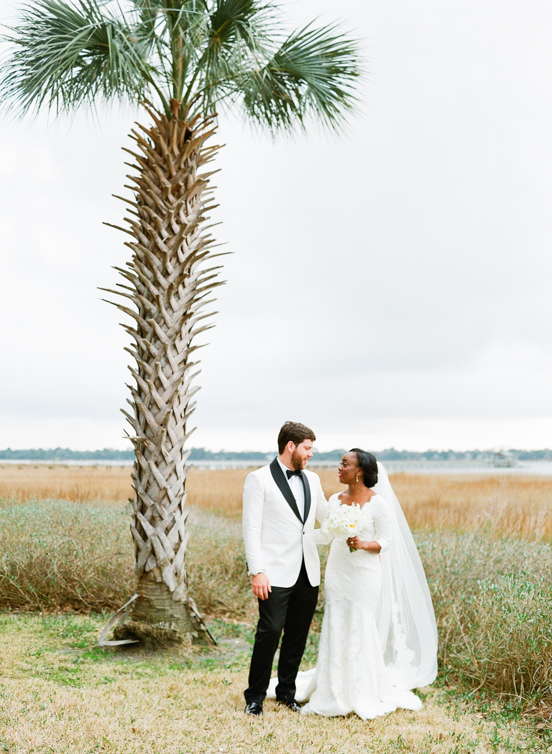 hamida charlie charleson wedding couple