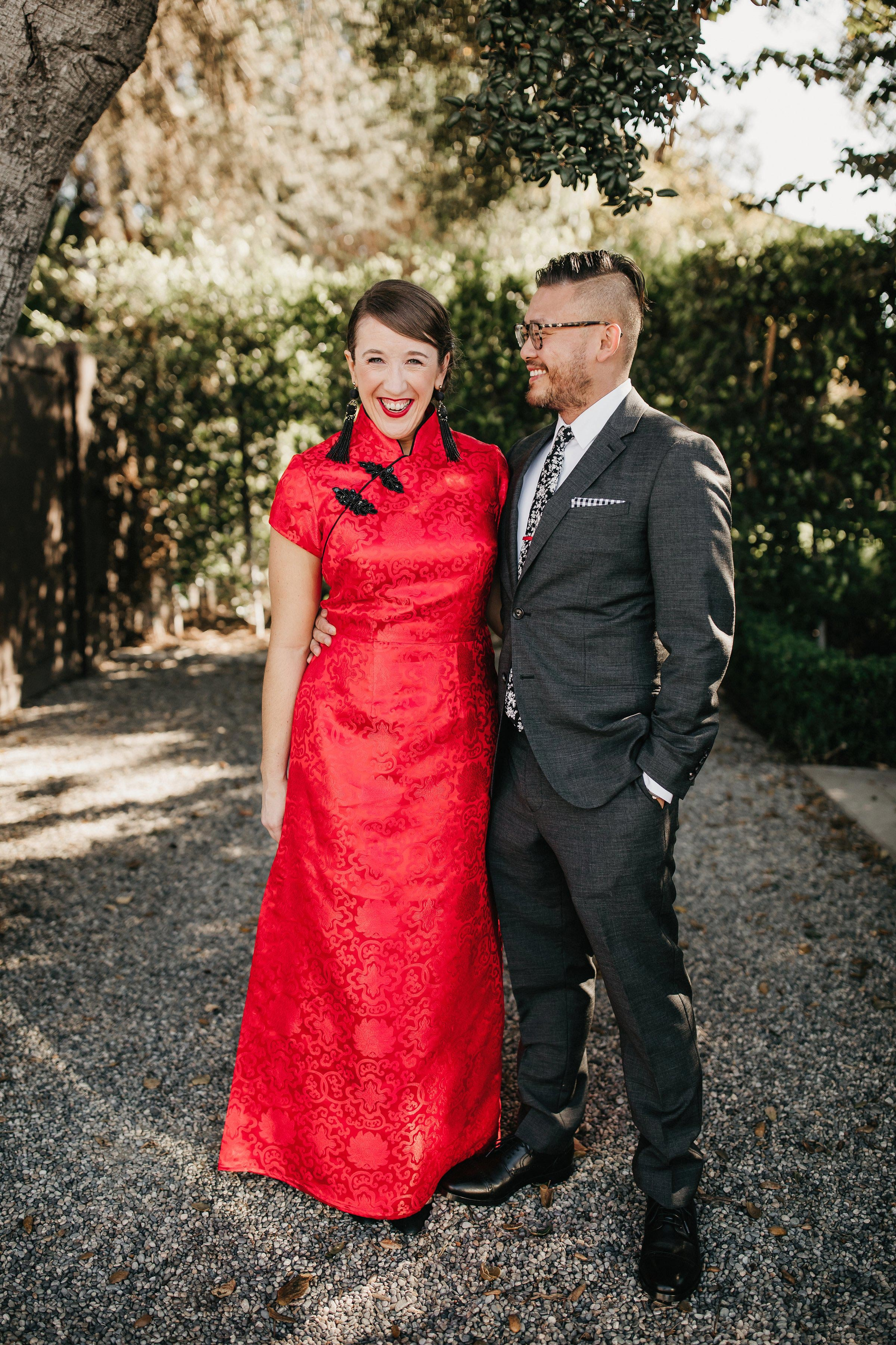 colleen pip wedding couple