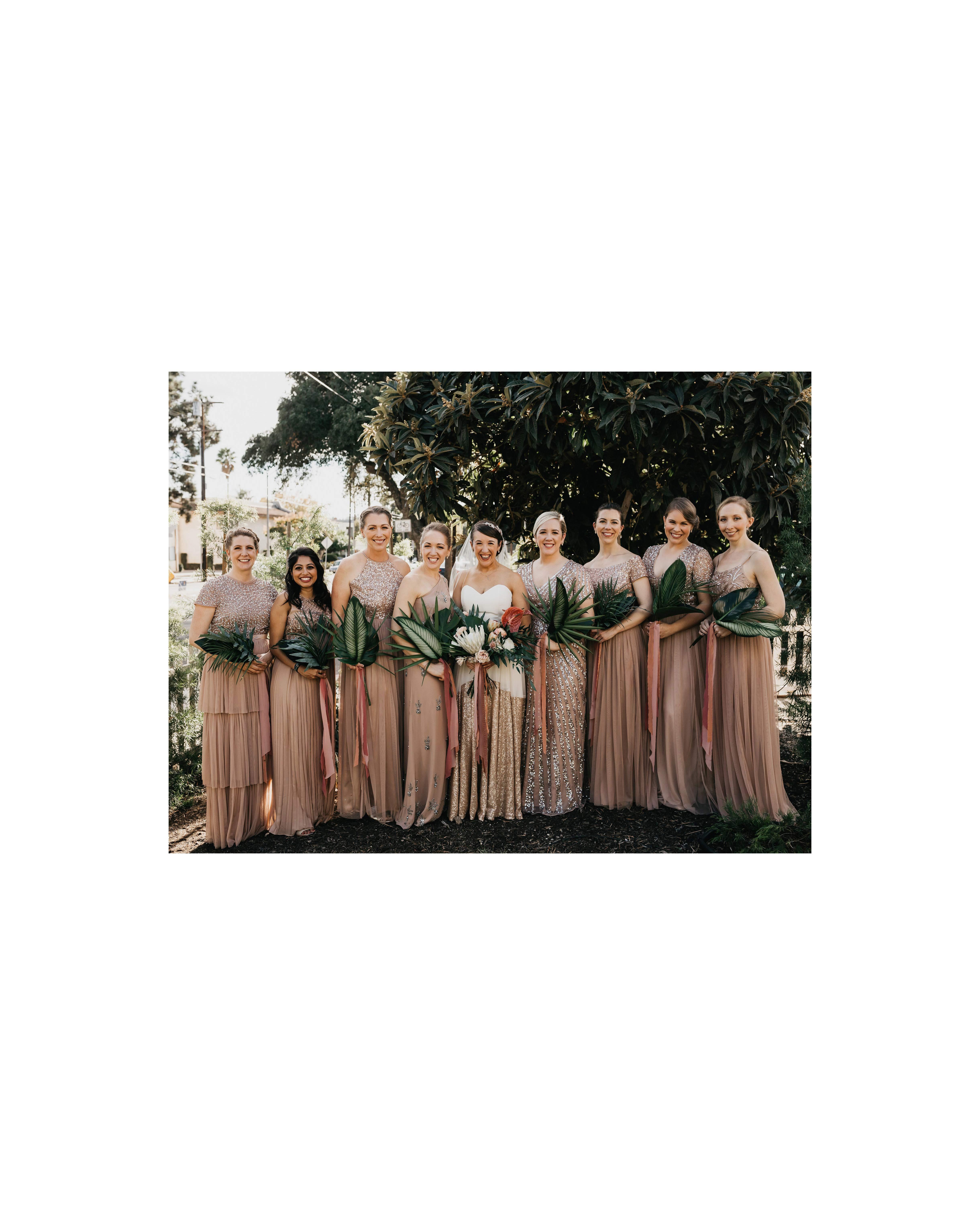 colleen pip wedding bridesmaids