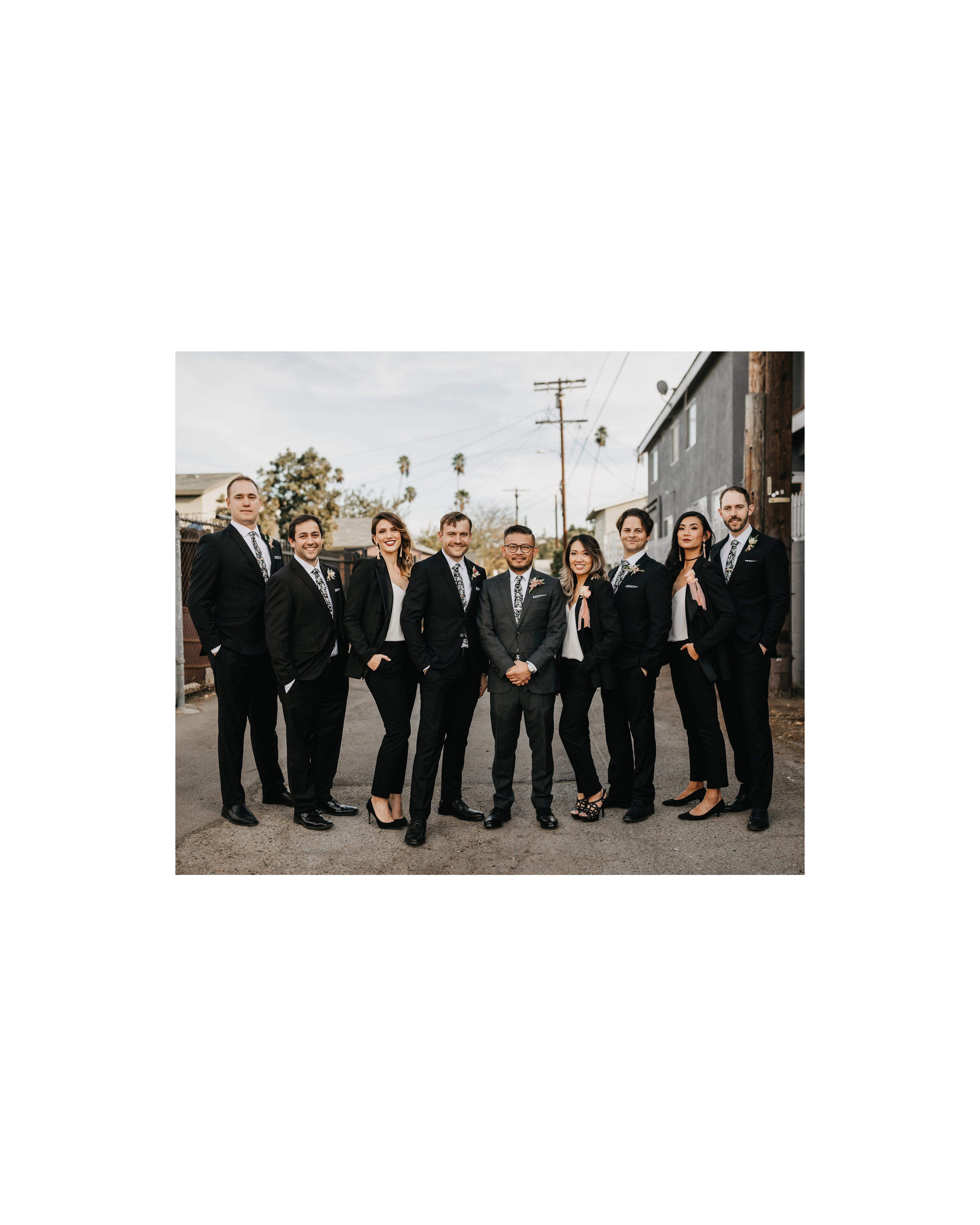 colleen pip wedding groomsmen groomsmaids