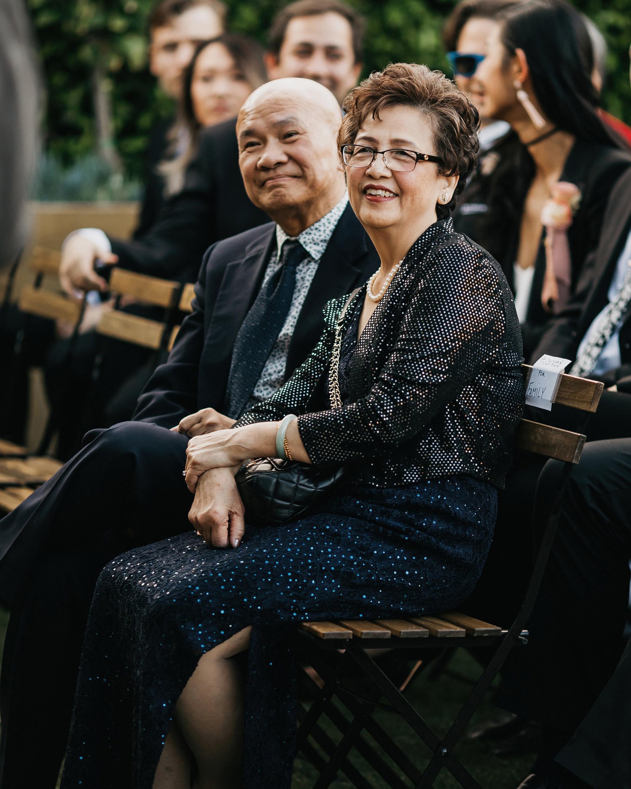 colleen pip wedding parents