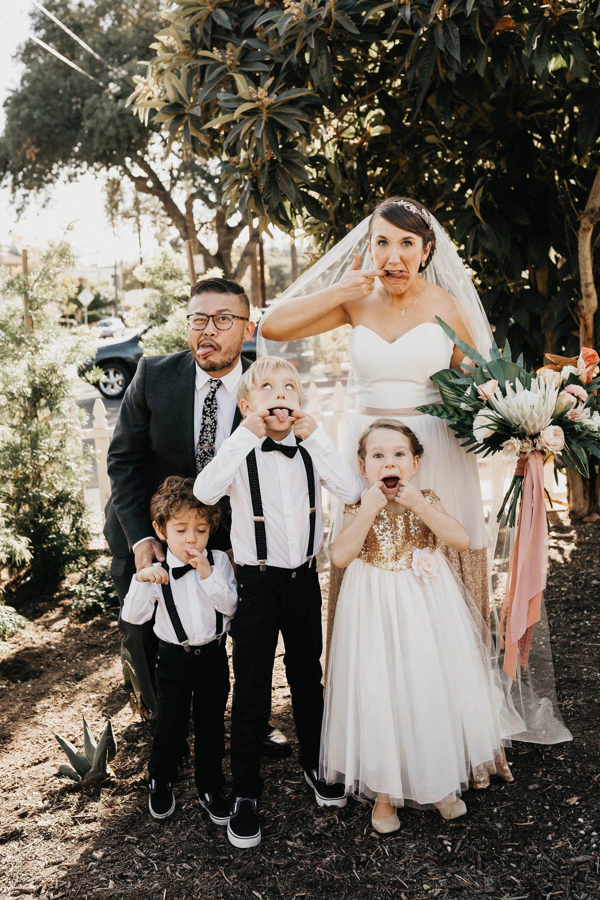 colleen pip wedding kids