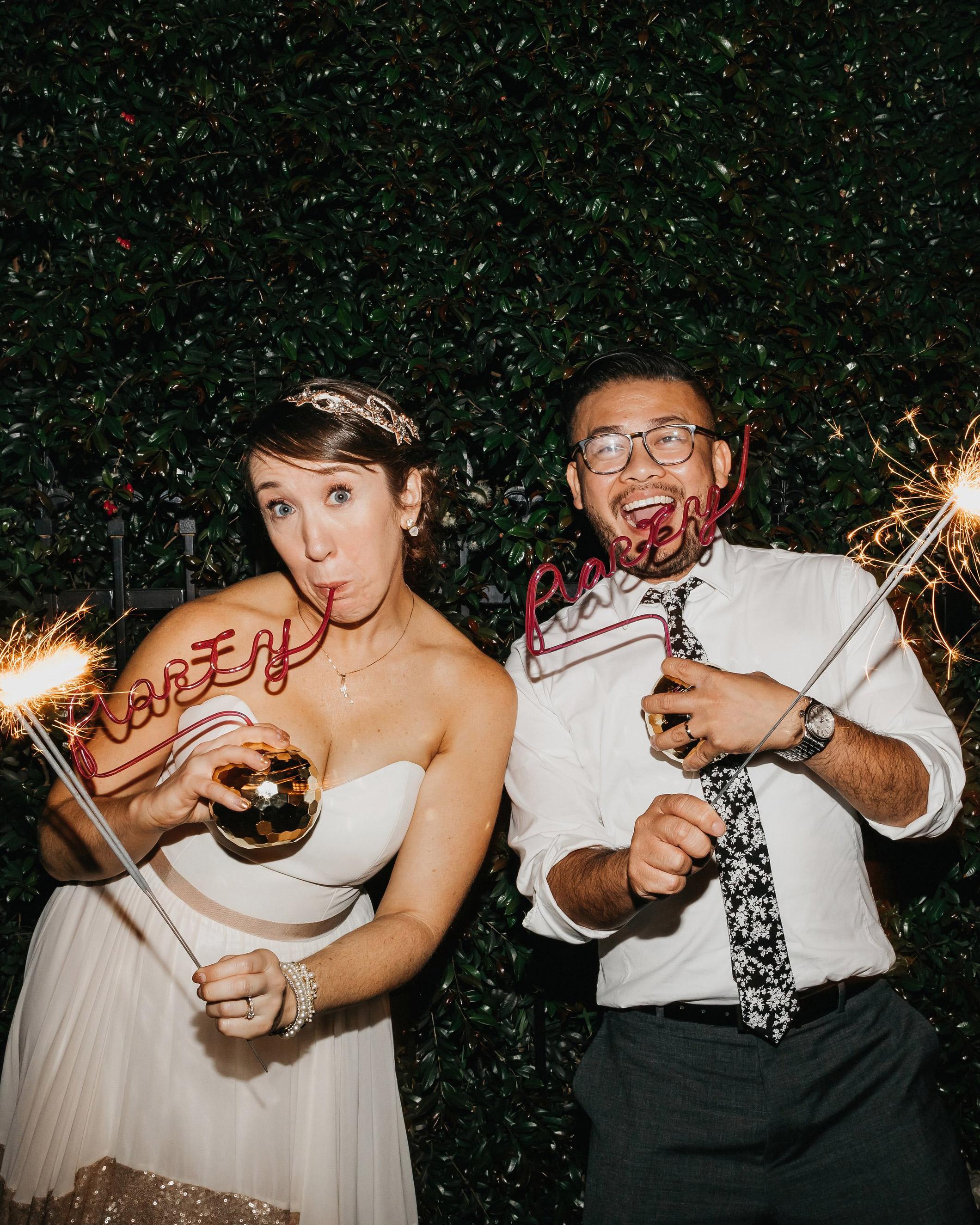 colleen pip wedding sparklers