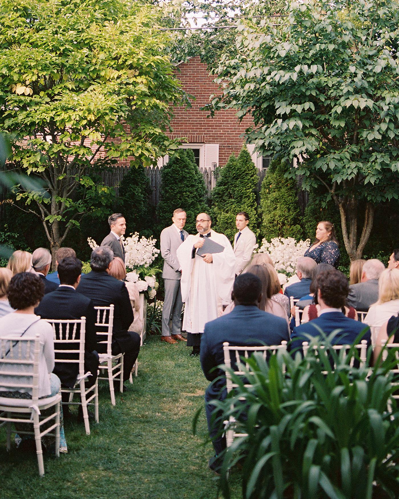 charles andrew wedding outdoor ceremony