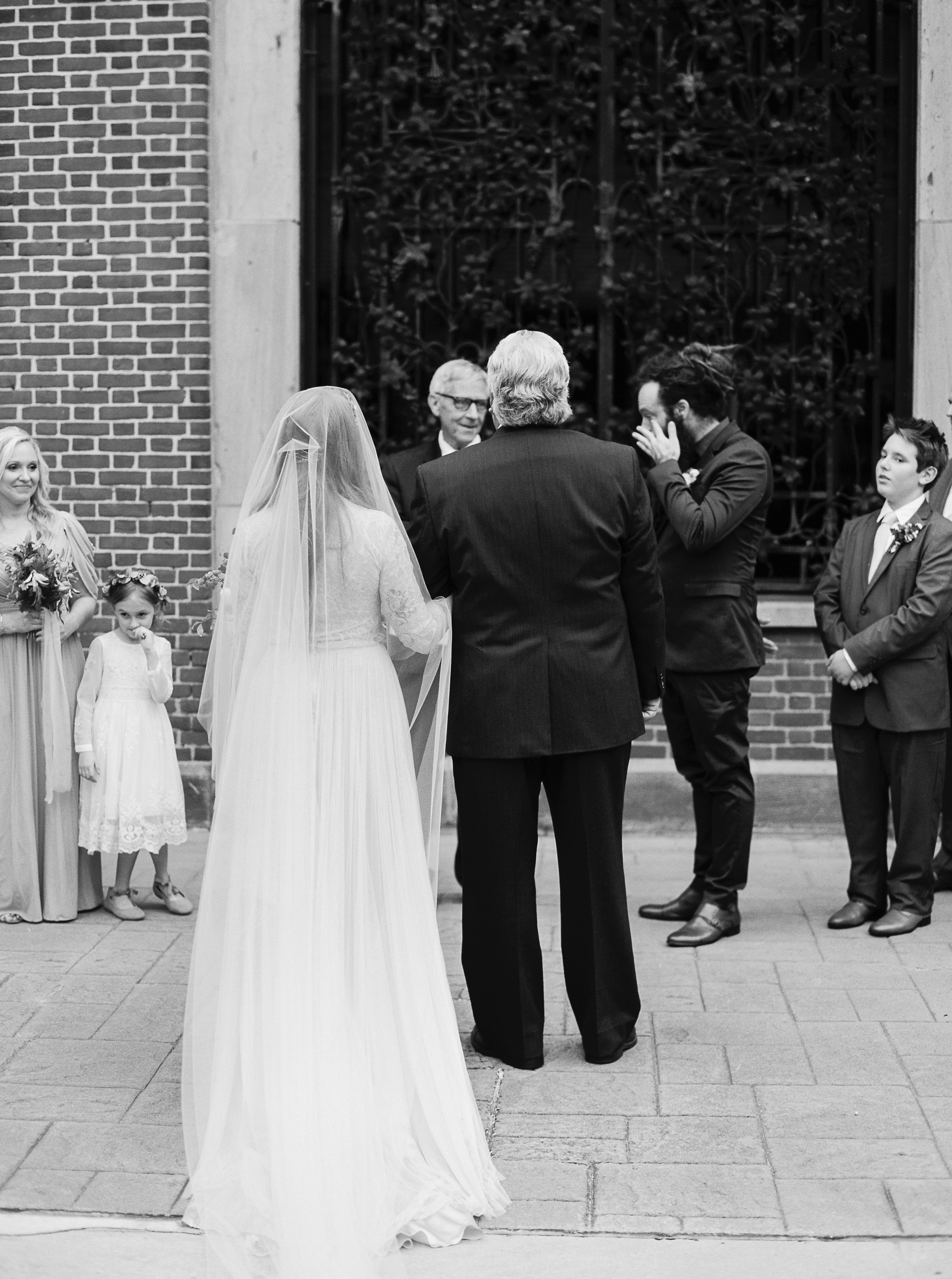 katie matthew ohio wedding processional