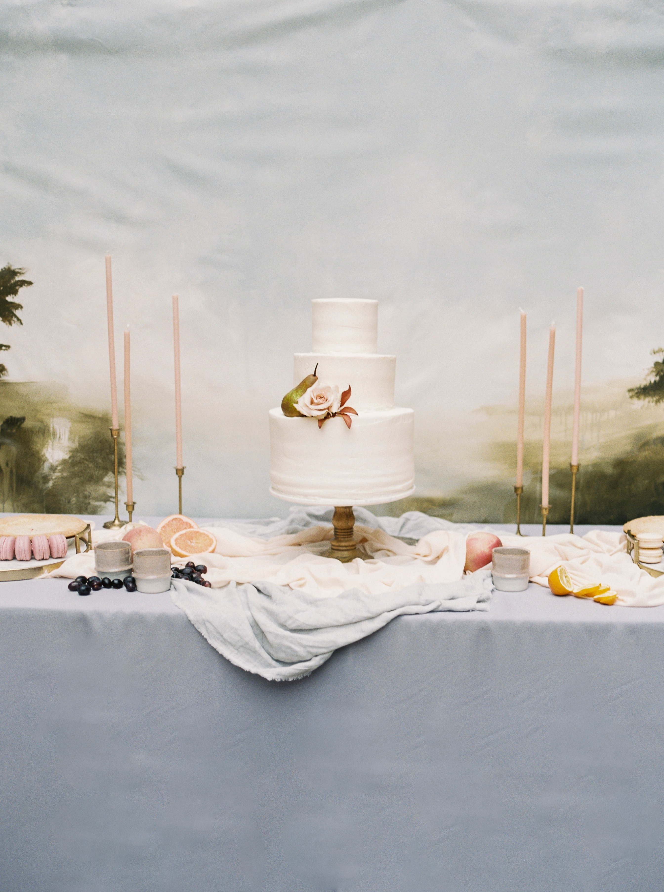 katie matthew ohio wedding dessert table