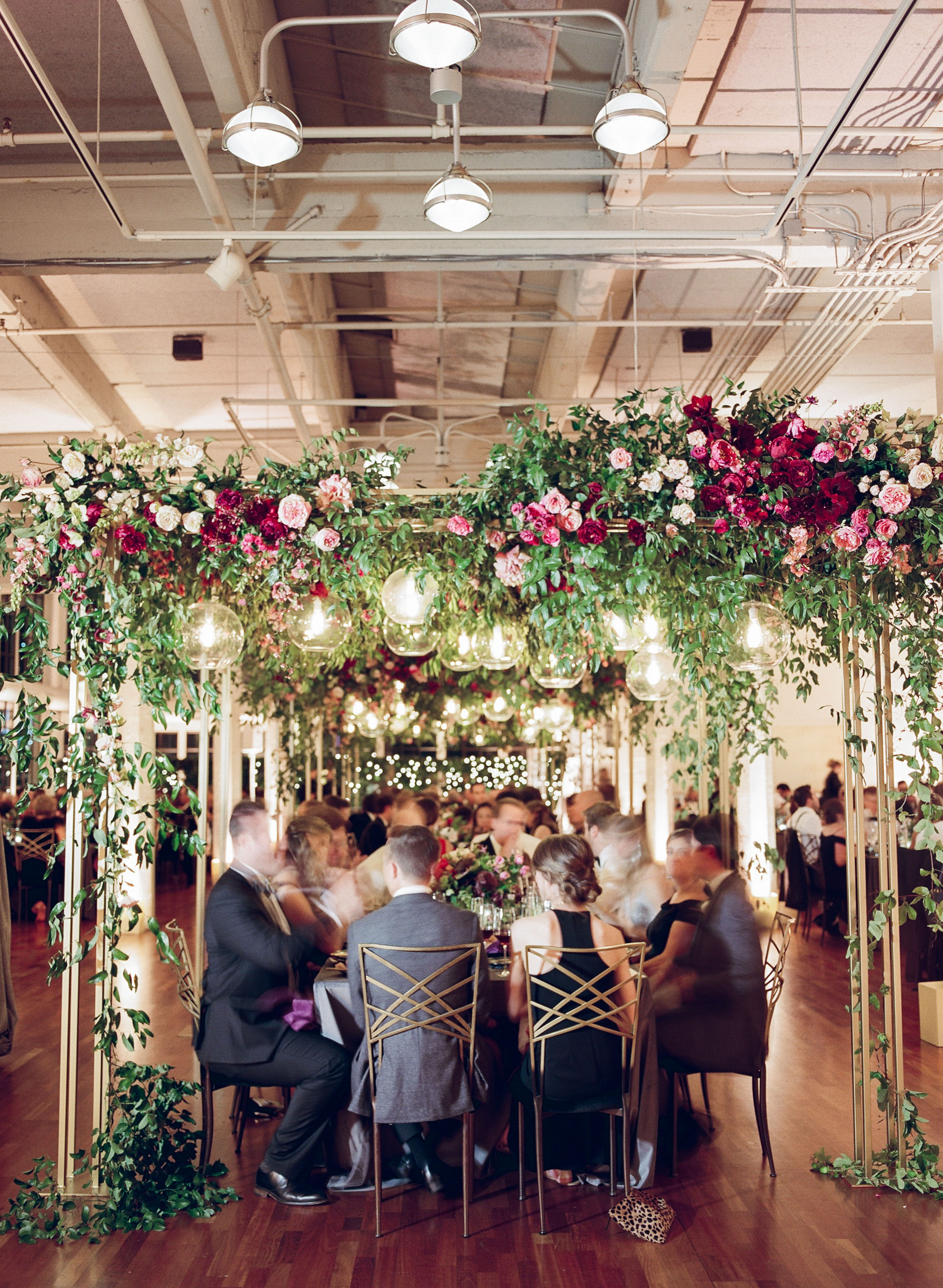 A Flower-Filled Wedding at a San Francisco Art Gallery