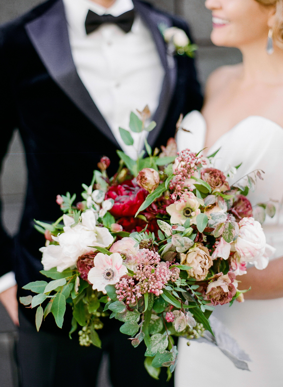 katie andre wedding bridal bouquet
