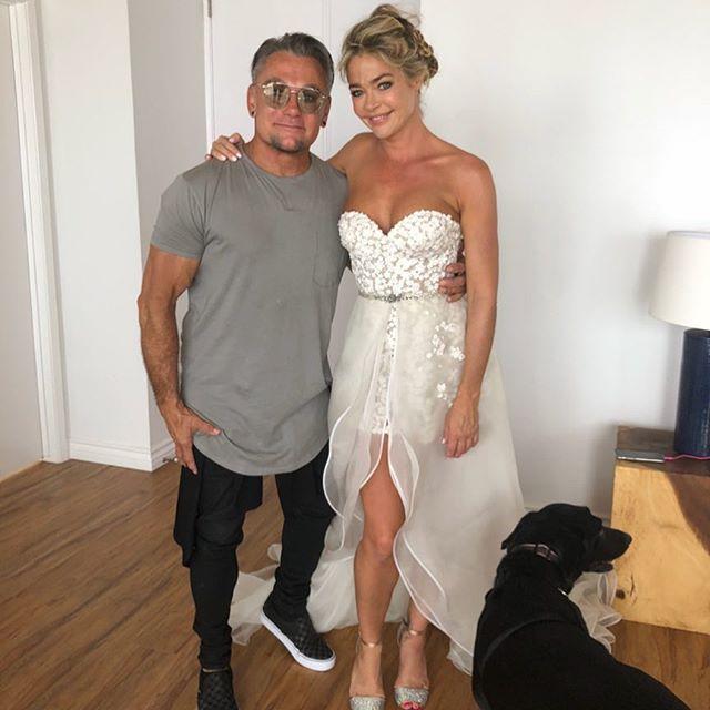 denise richards mark zunino wedding dress