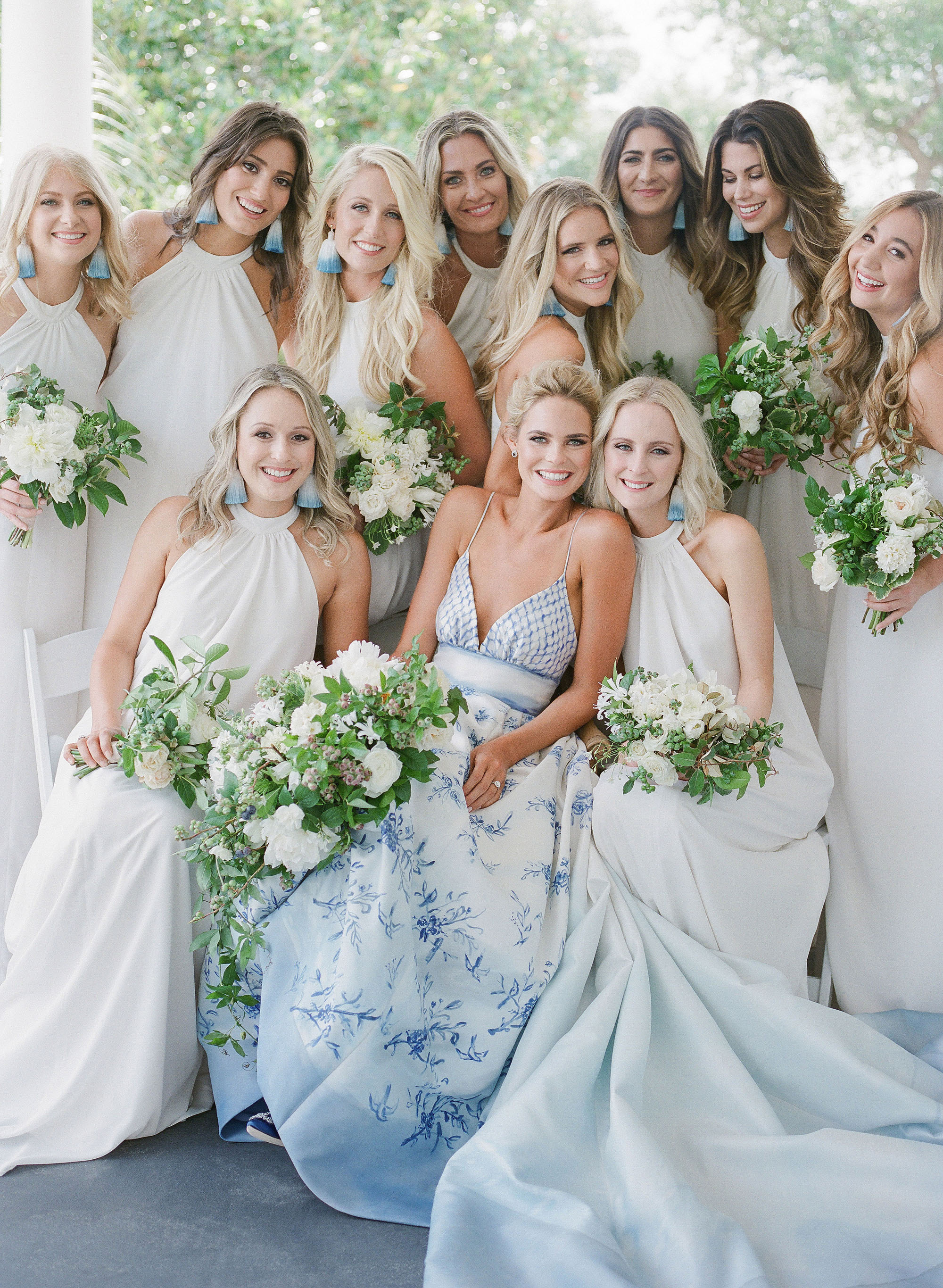 christina matt wedding charleston sc bridesmaids