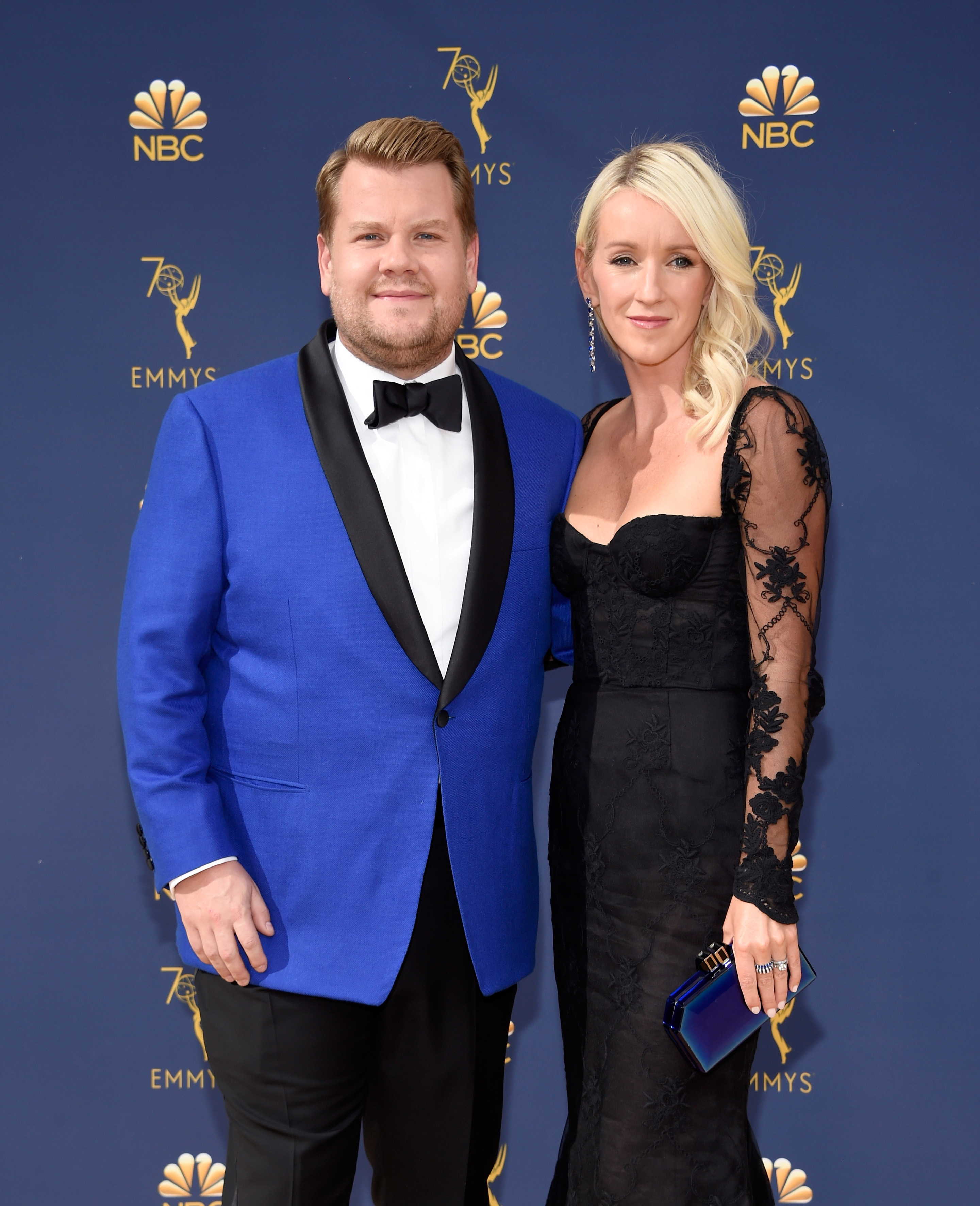 james corden and julia carey emmys 2018