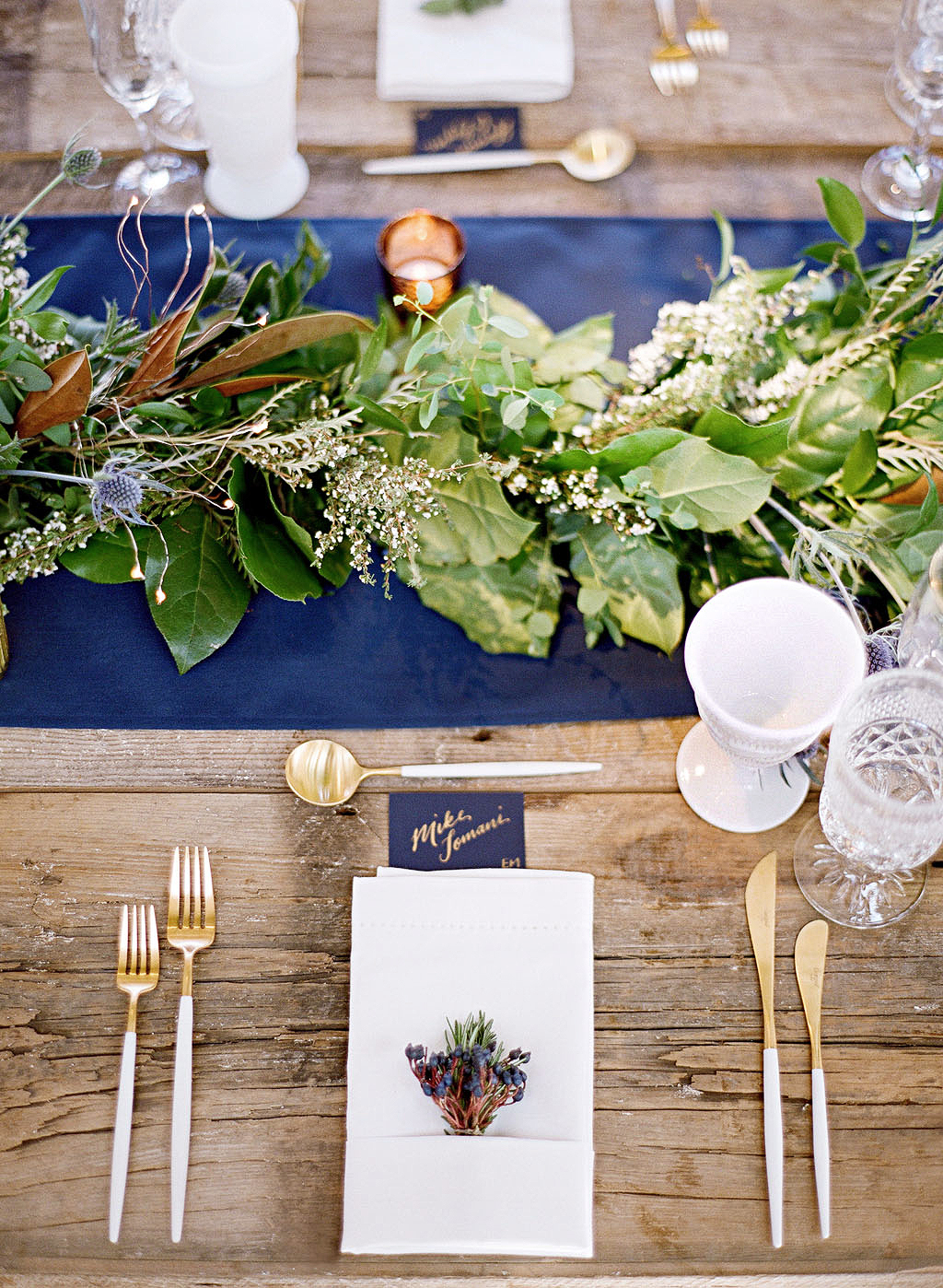 A Modern Table Setting