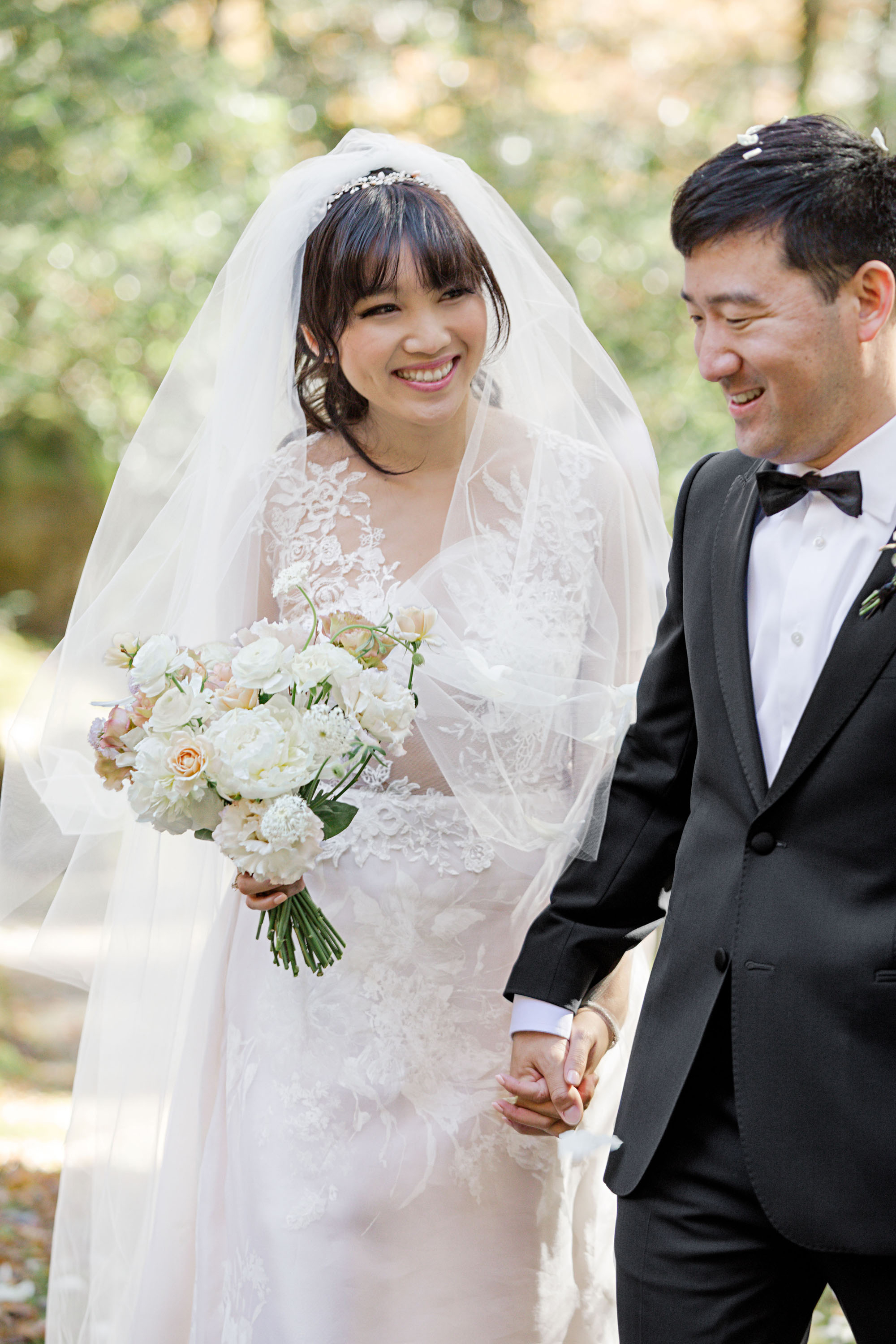 This Couple Embraced Tradition and Nature During Their Elopement in Japan