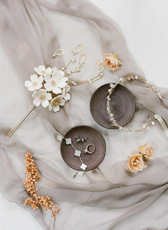 addie richard wedding japan accessories jewelry