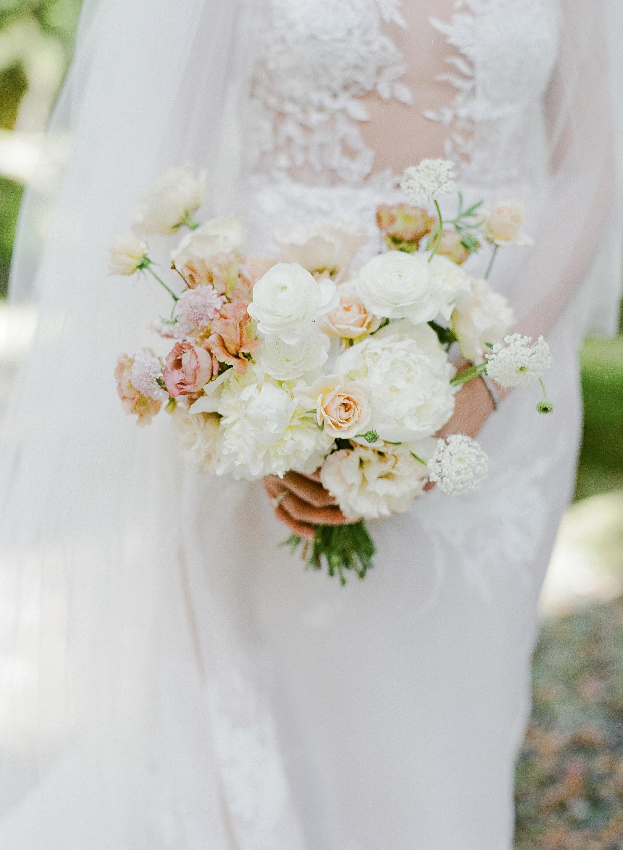 addie richard wedding japan bouquet
