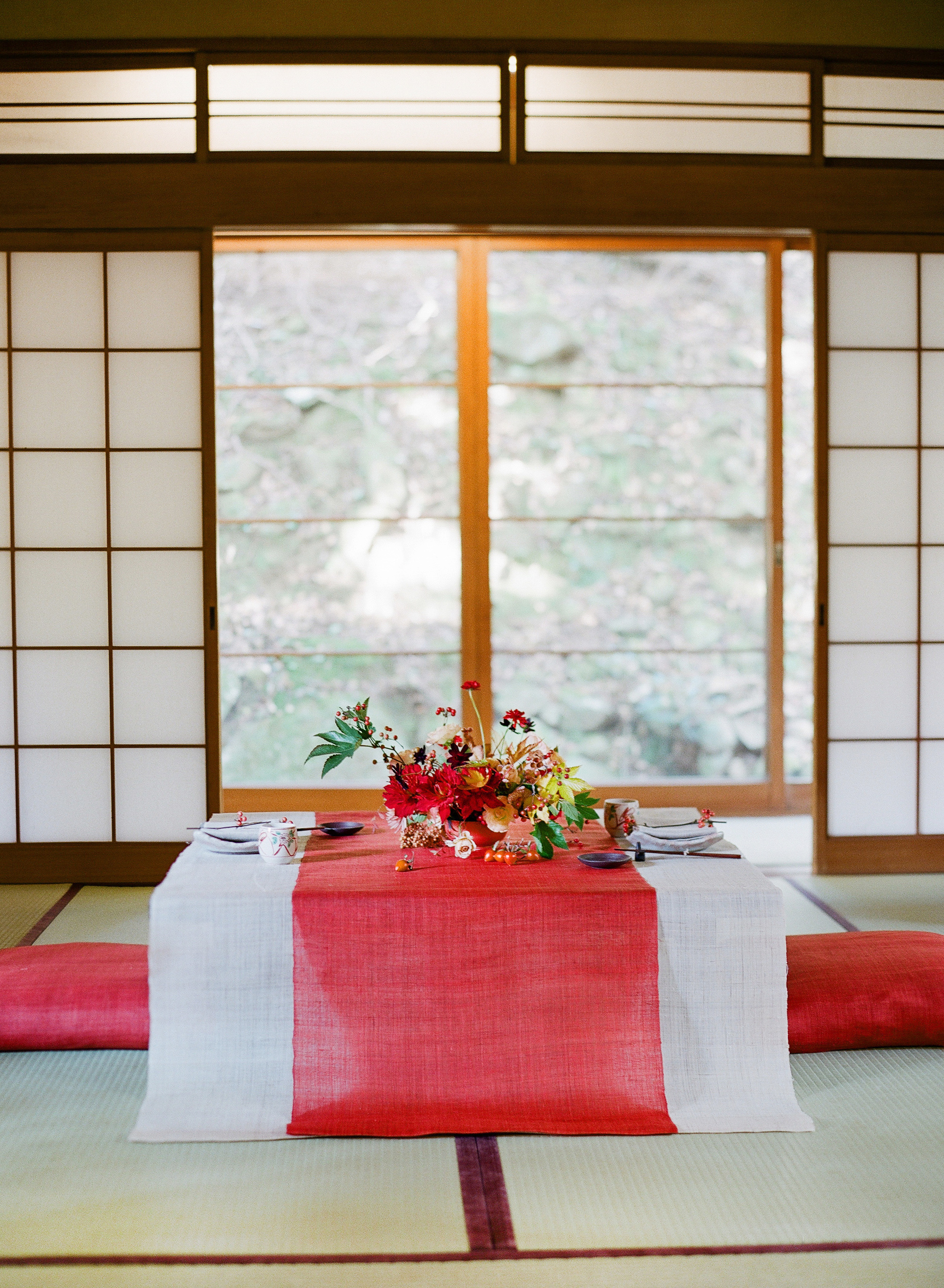 addie richard wedding japan table for two