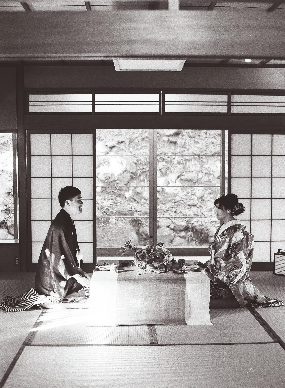addie richard wedding japan post wedding meal