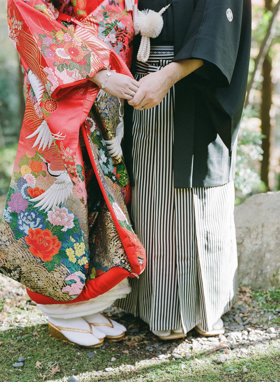addie richard wedding japan kimono