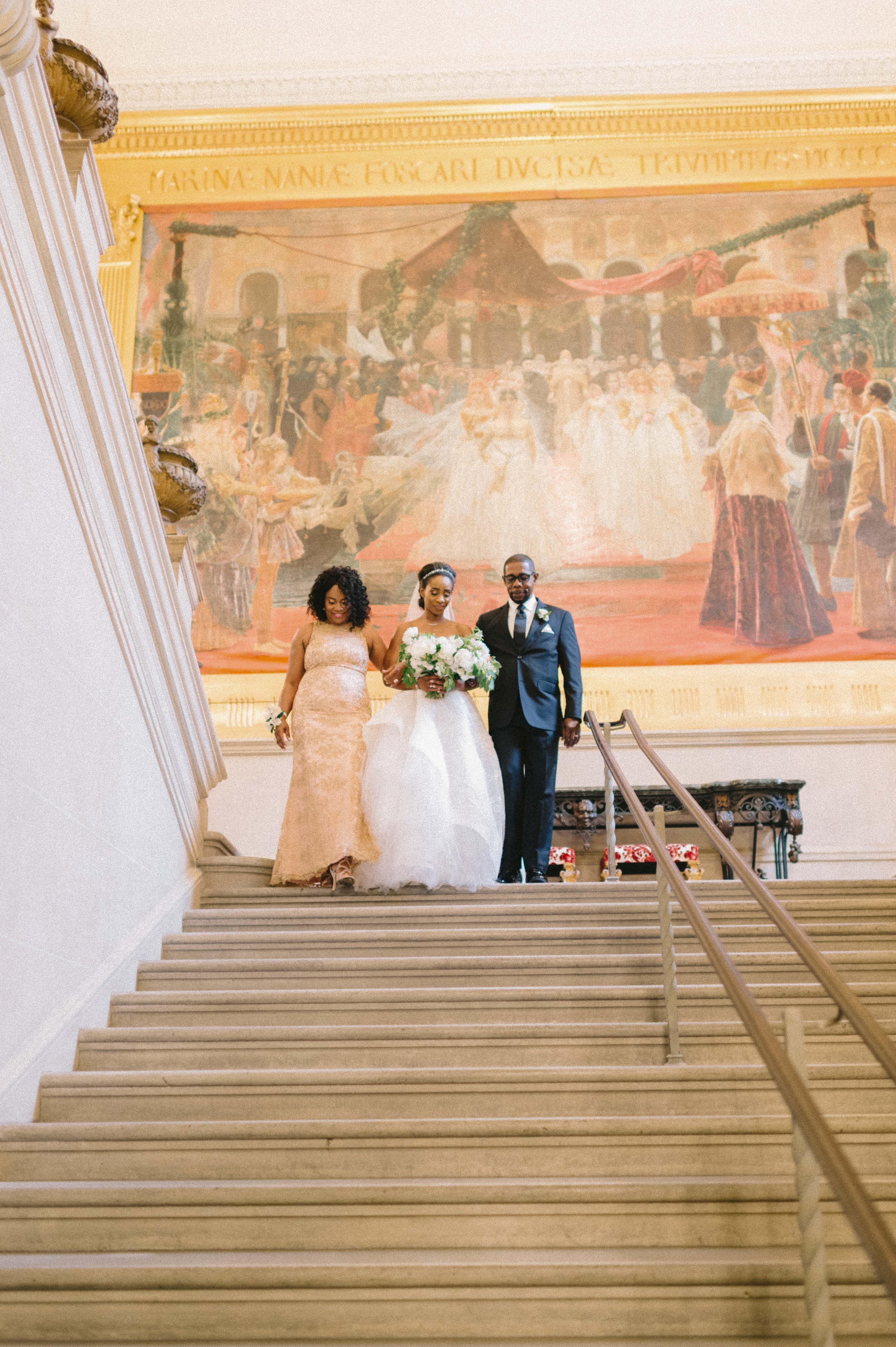 abby marcus wedding processional 475