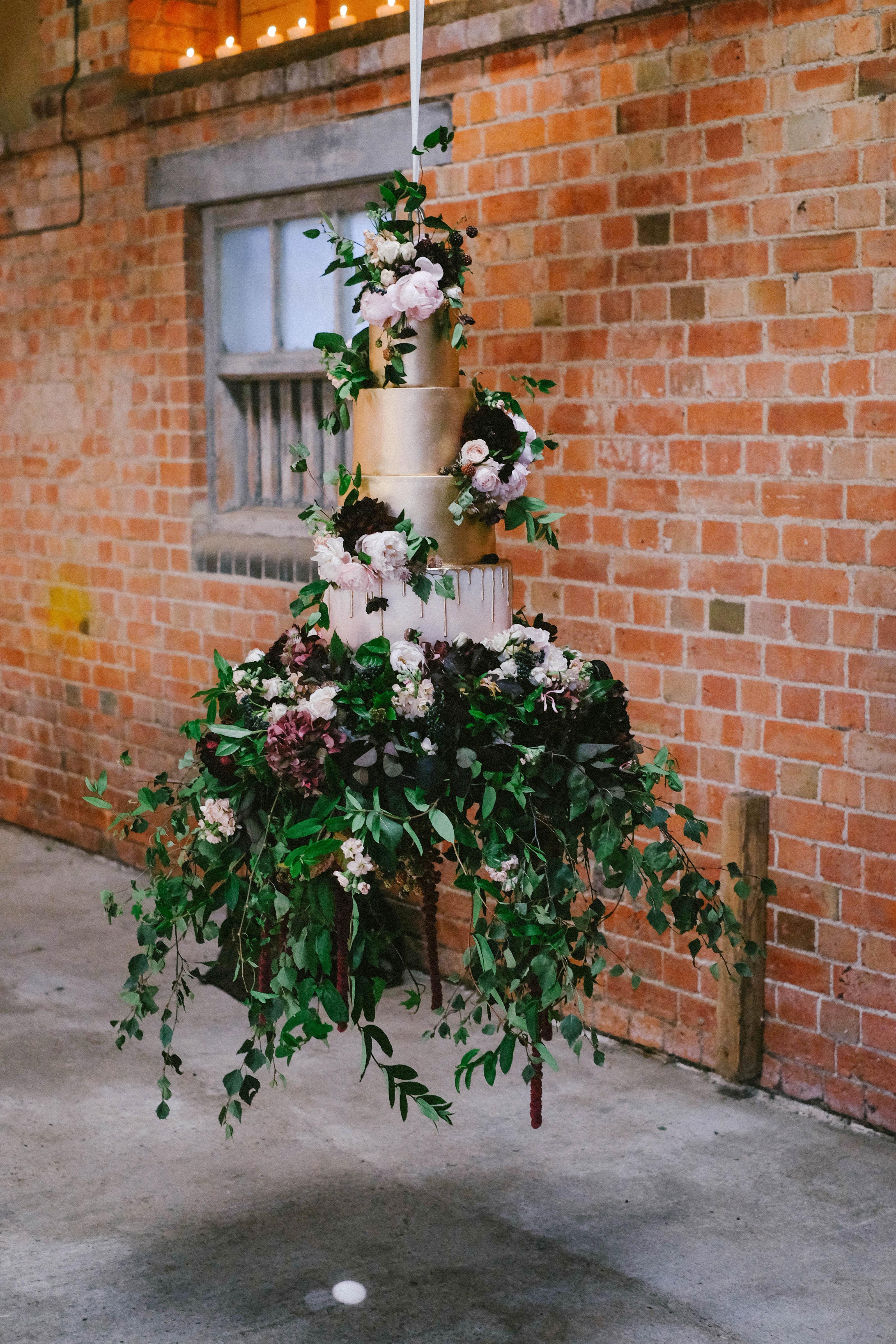 suspended wedding cake tables jeni smith
