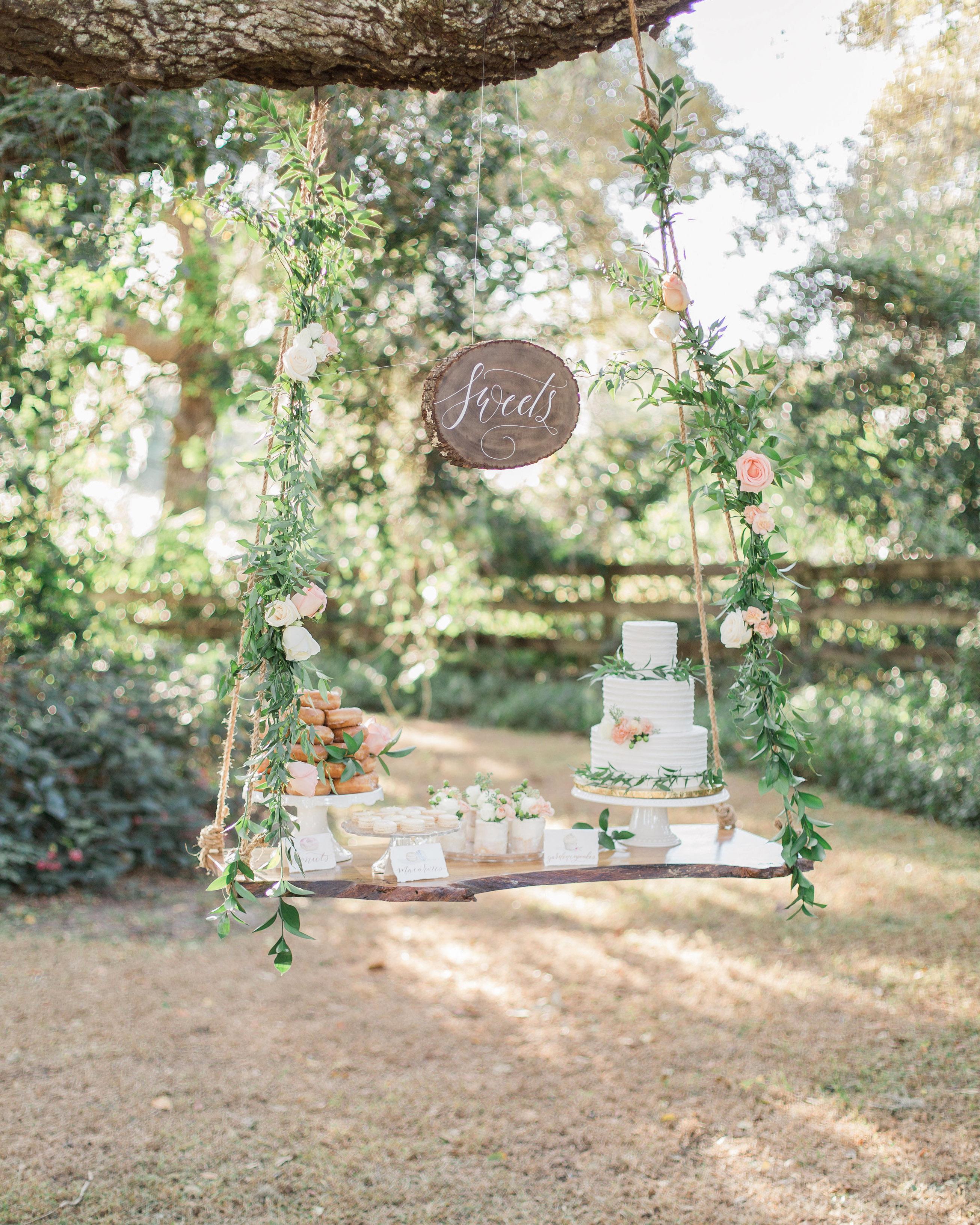 suspended wedding cake tables the hendricks