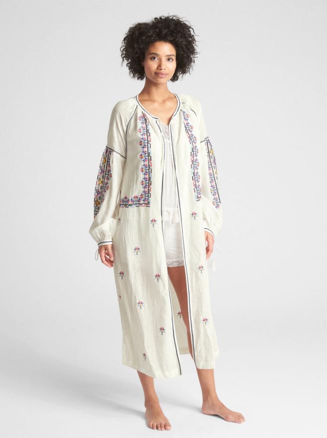 bridesmaids robes gap