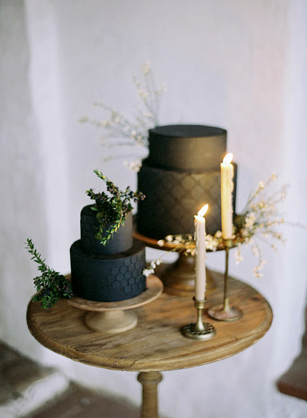 black wedding cake jen huang ninecakes