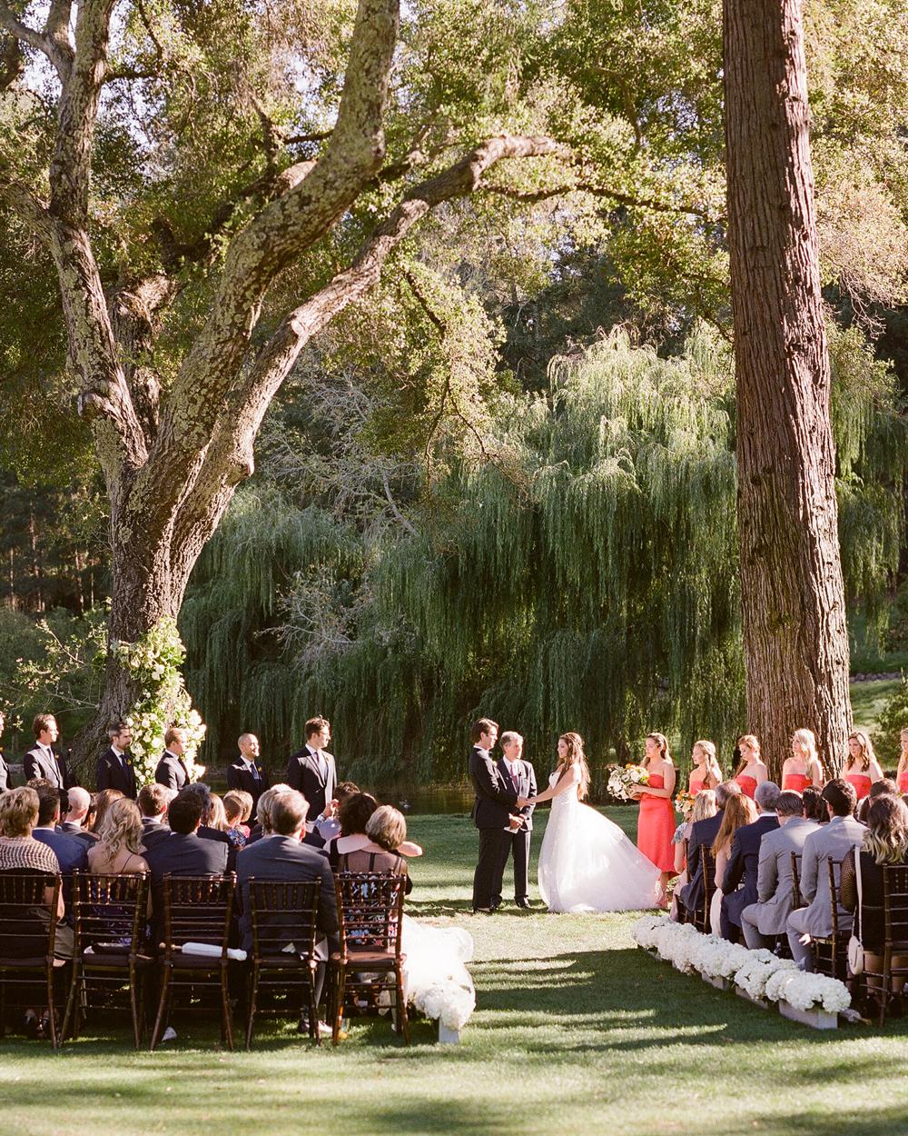 alessa andrew wedding ceremony
