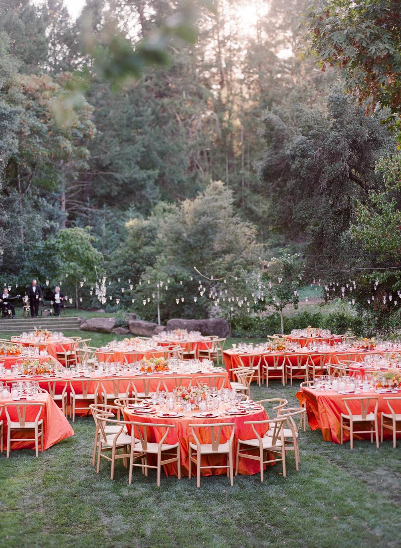 alessa andrew wedding reception tables