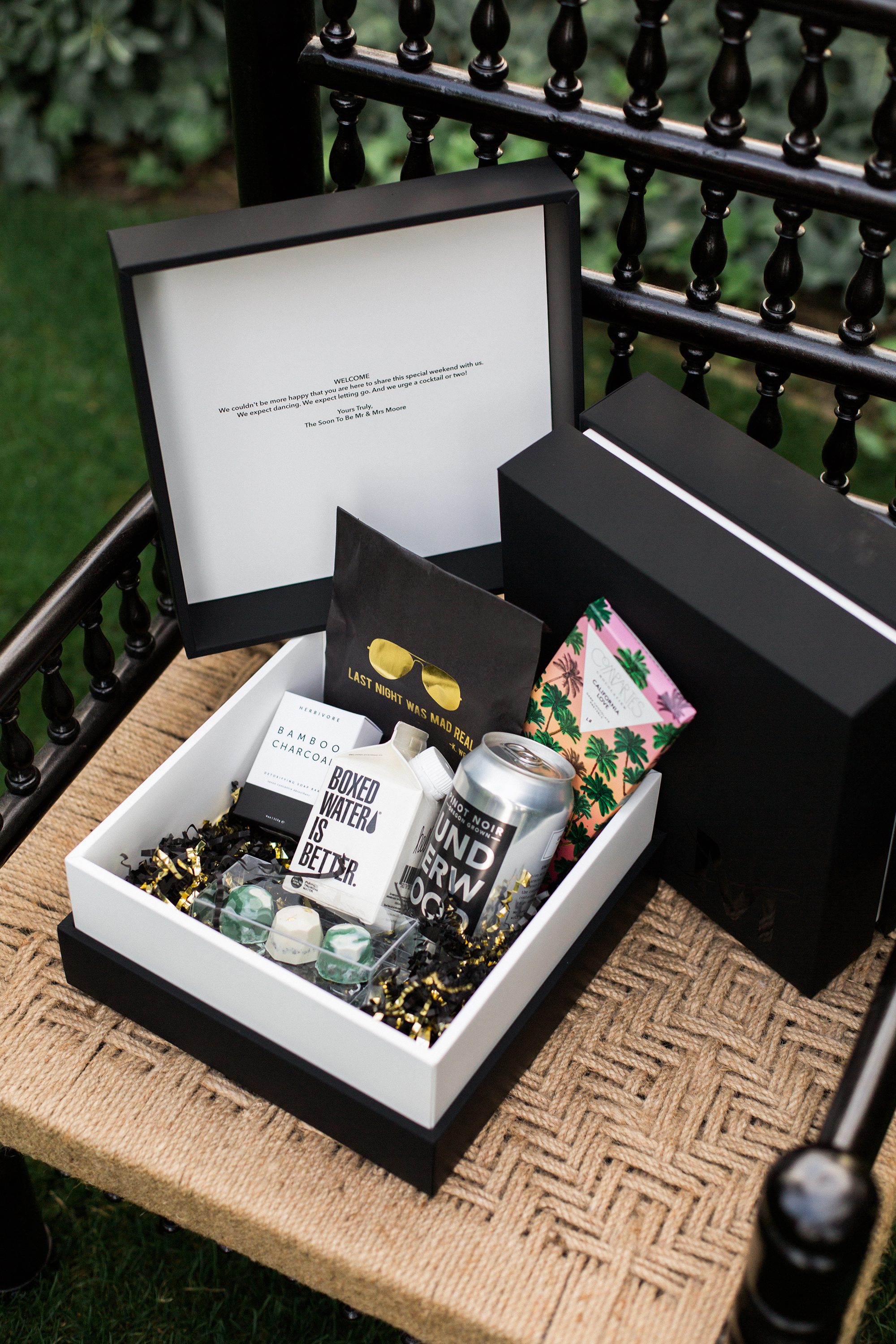 lyndsey magellan wedding welcome box