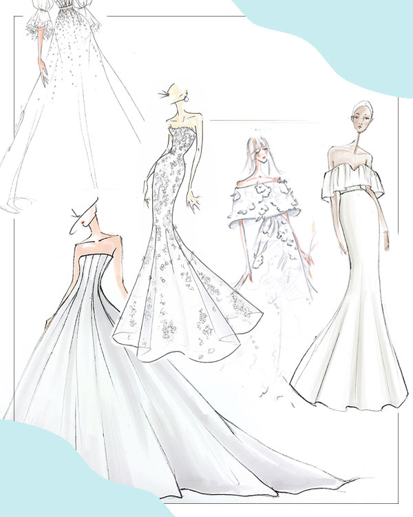 Exclusive: Get a First Look at the Fall 2019 Bridal Collections