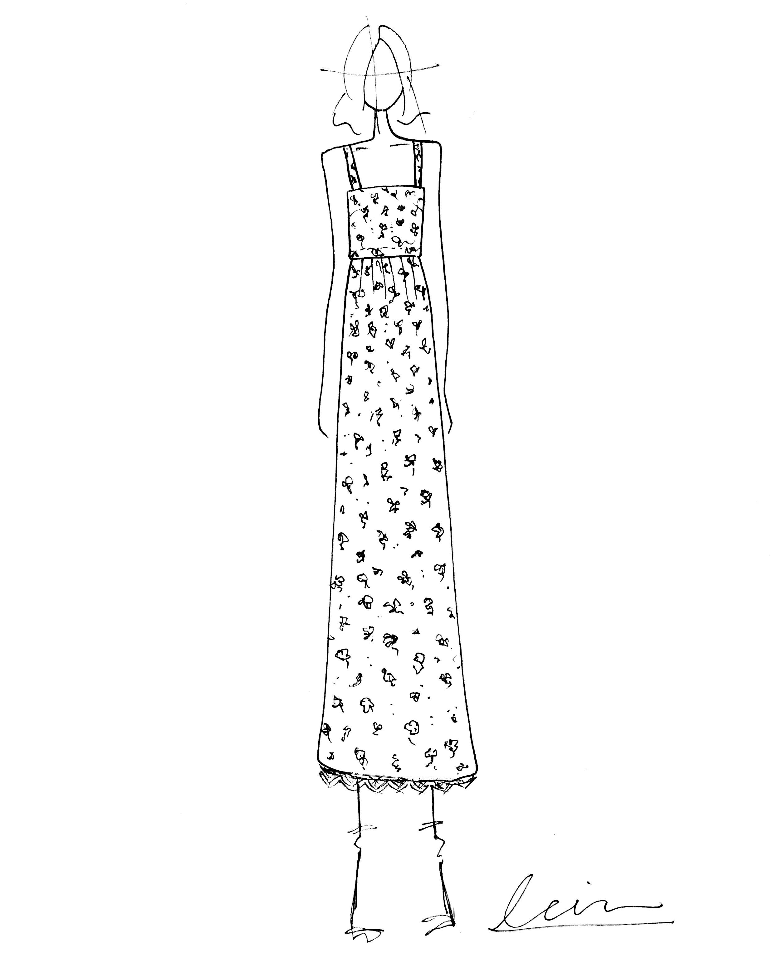 bridal fashion week sketches fall 2019 lein