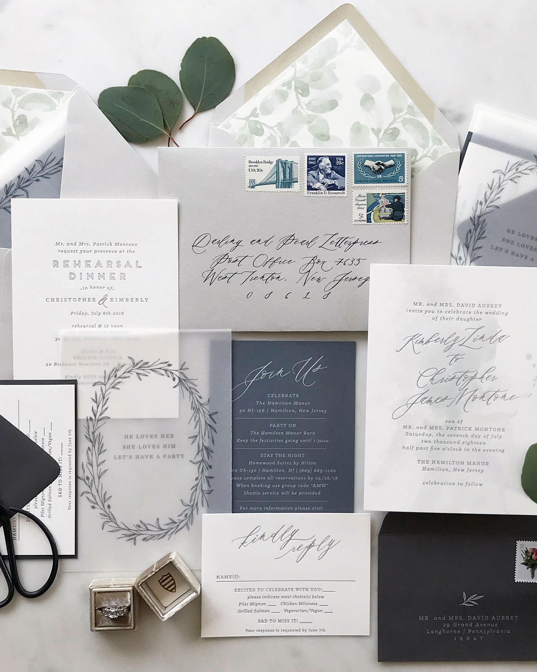 30 Unique Ways To Use Vellum Throughout Your Wedding