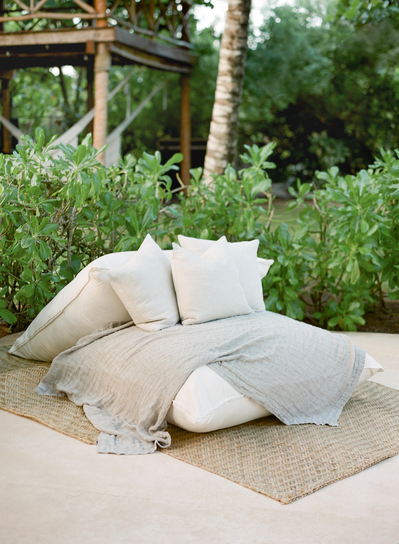 ariel trevor wedding tulum mexico lounge seating