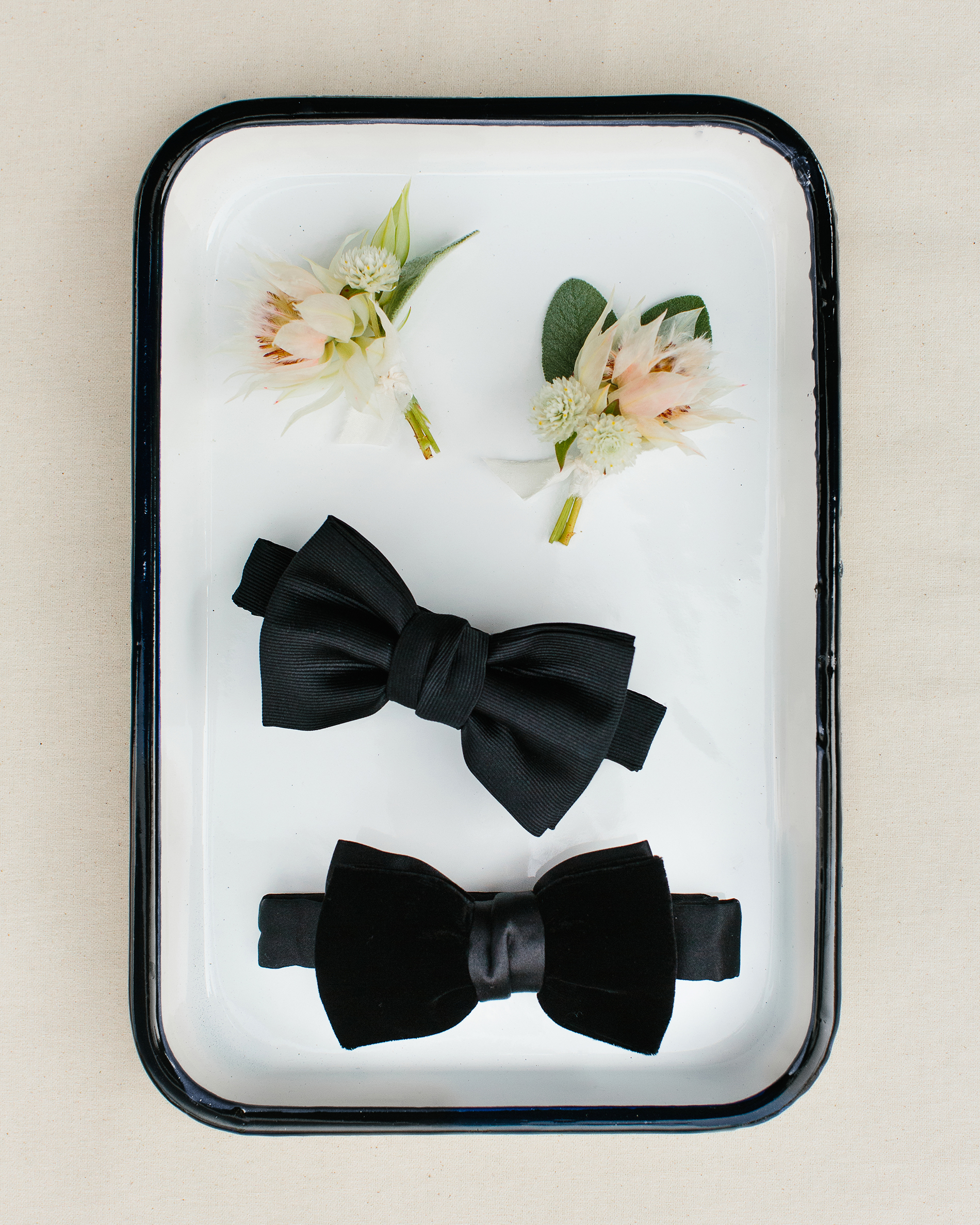 tory sean wedding lake placid new york bowtie boutonnieres