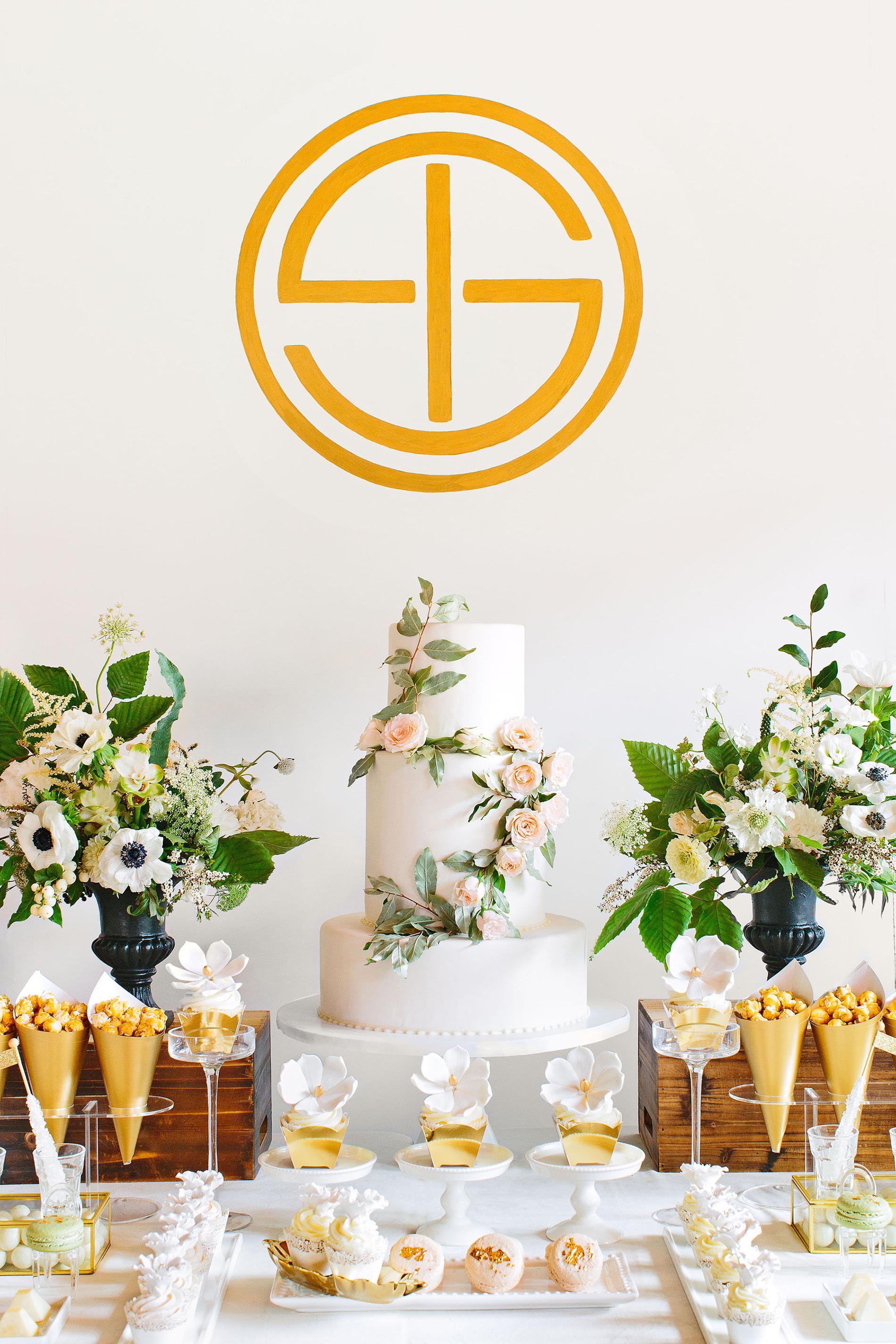 tory sean wedding lake placid new york dessert table