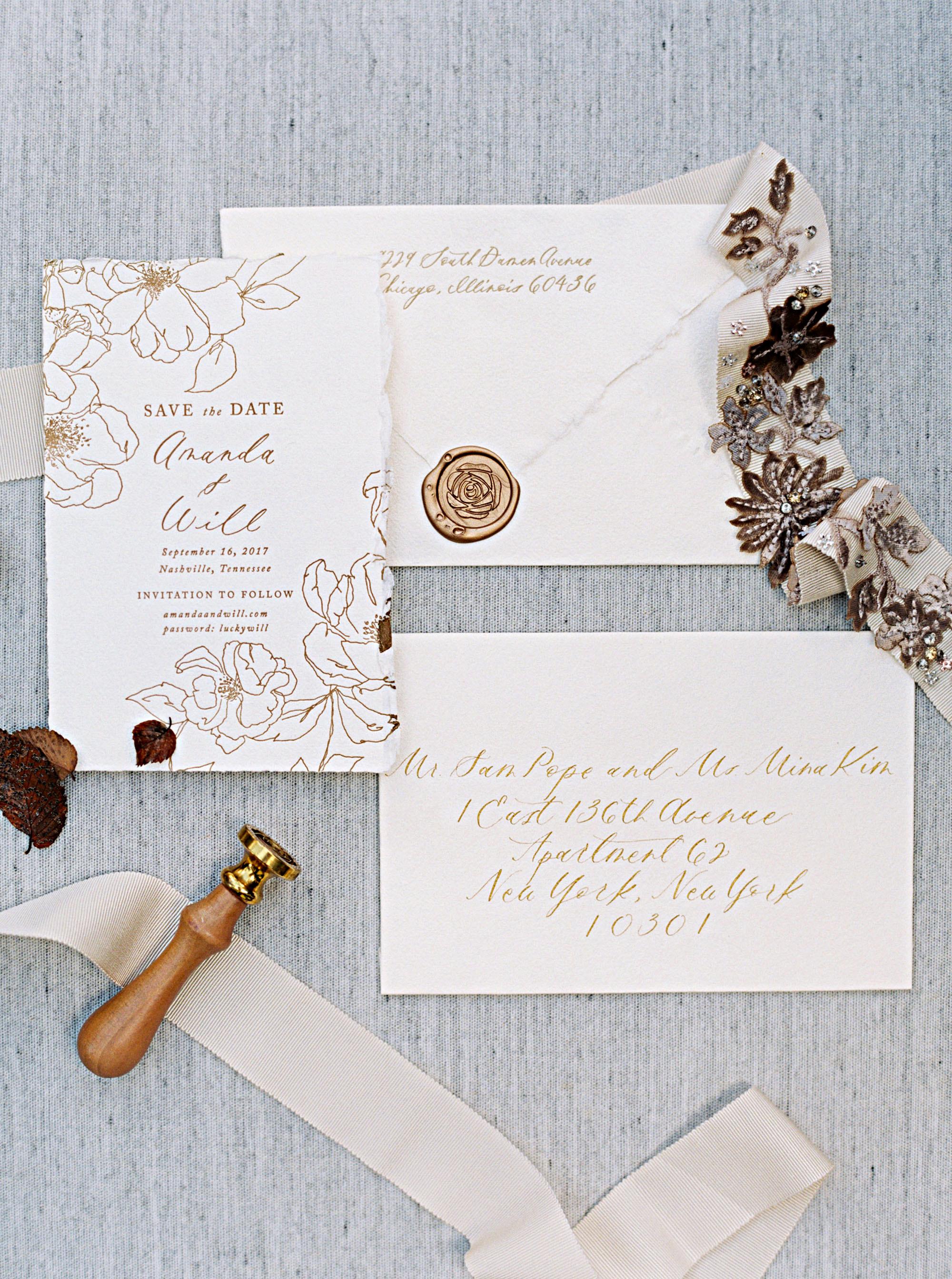 amanda william wedding tennessee save the date