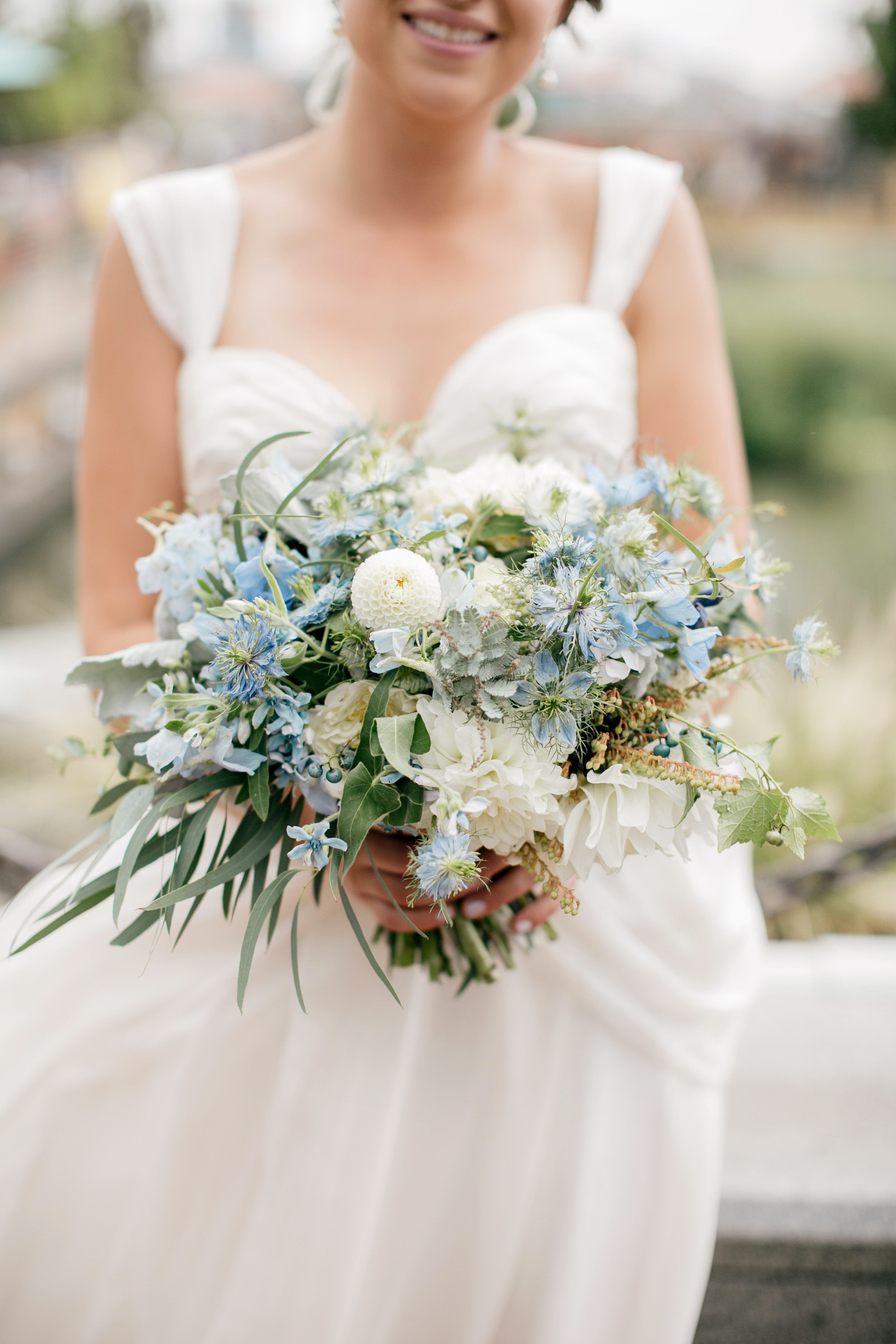 blue bouquet emily wren wildstems