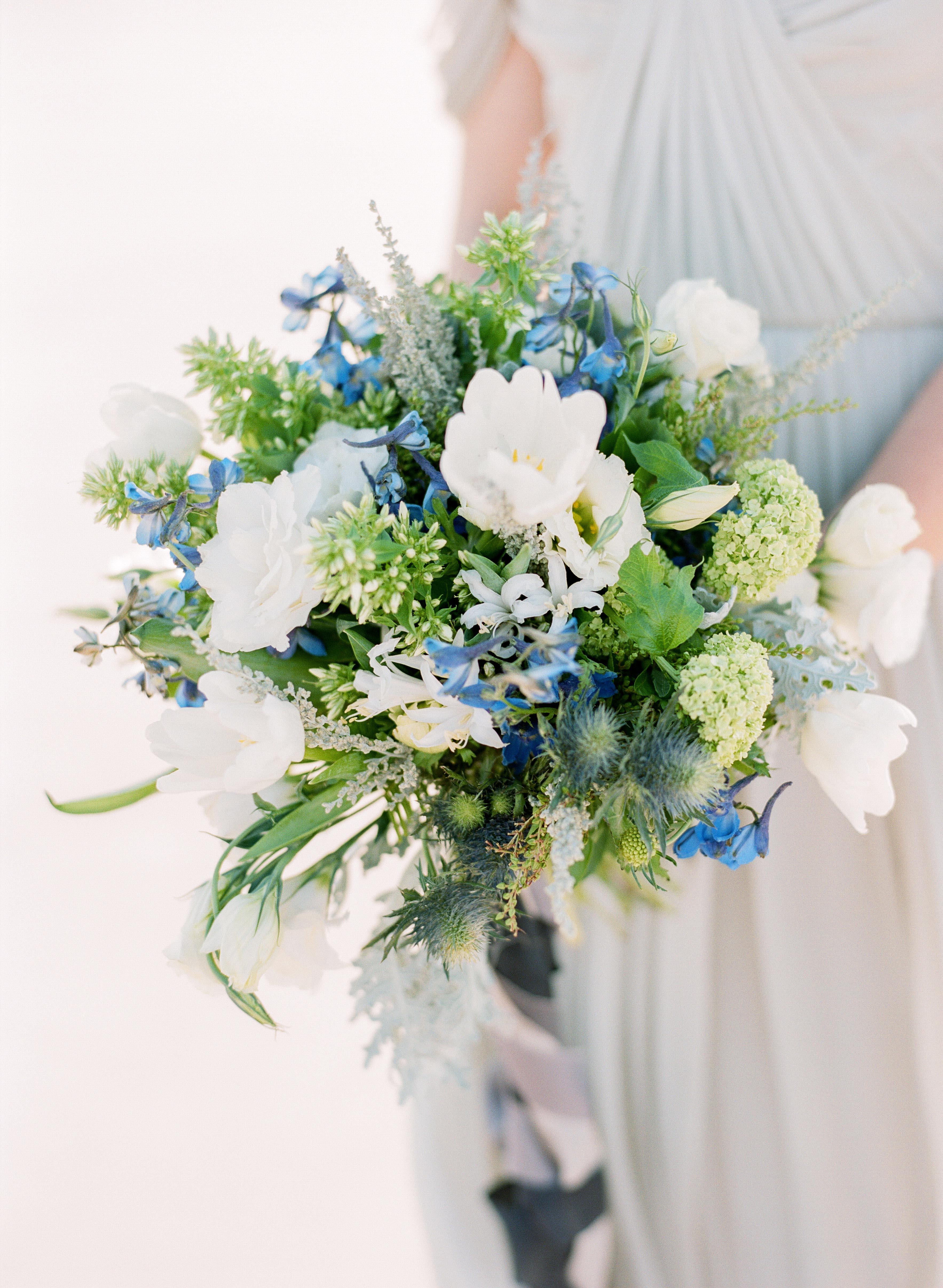 blue bouquet faith teasley kickstandevents