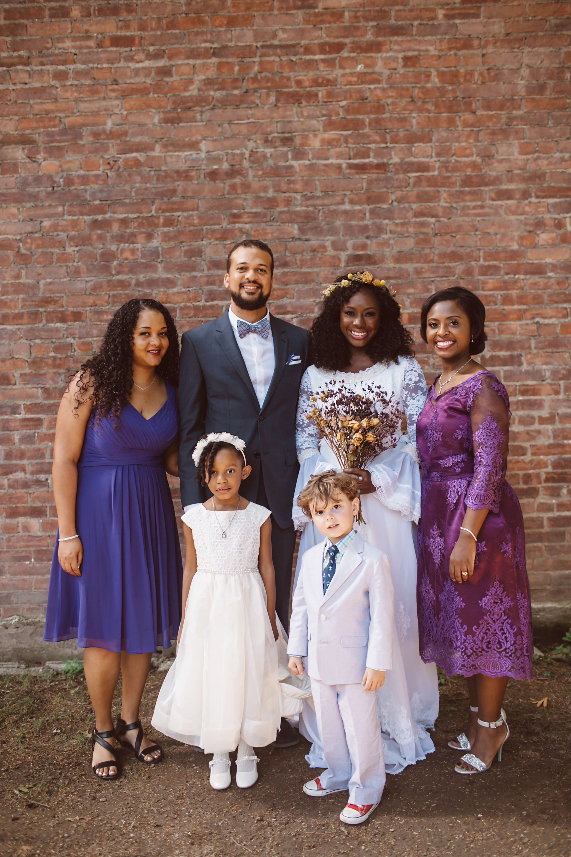 vasthy mason wedding bridal party